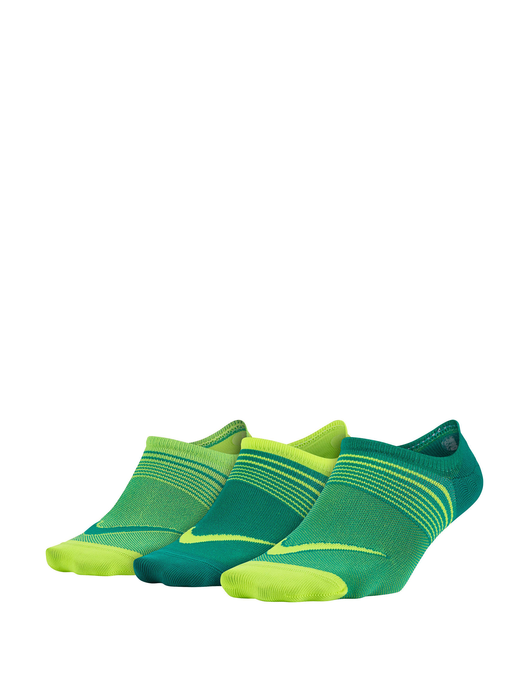 Nike Green / Yellow Socks