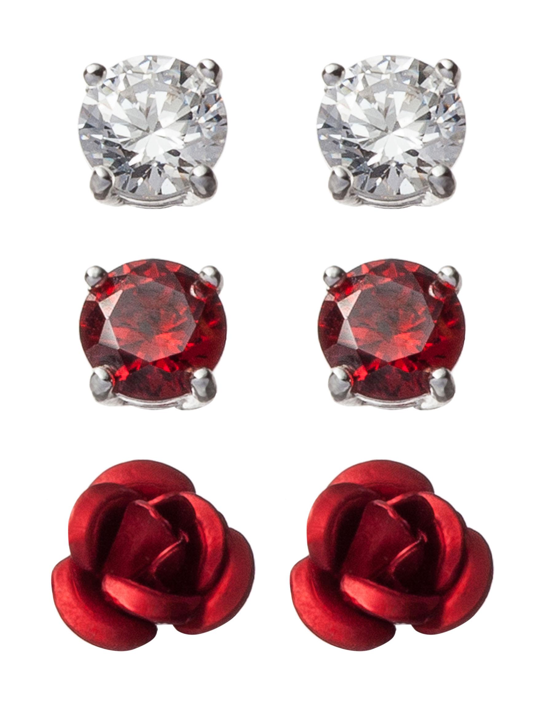 Sunstone Silver Studs Earrings Fine Jewelry