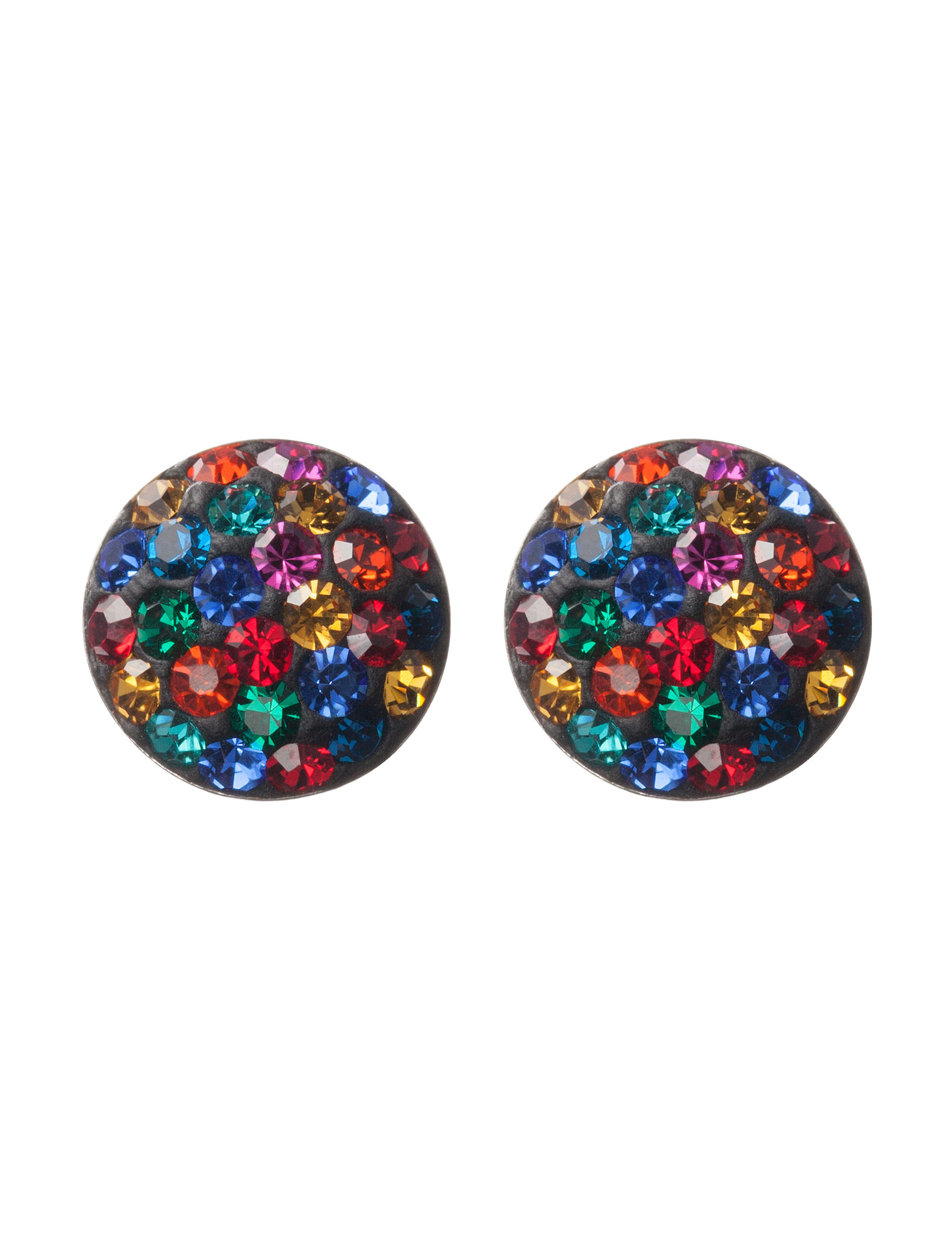 Athra Silver Studs Earrings Fine Jewelry