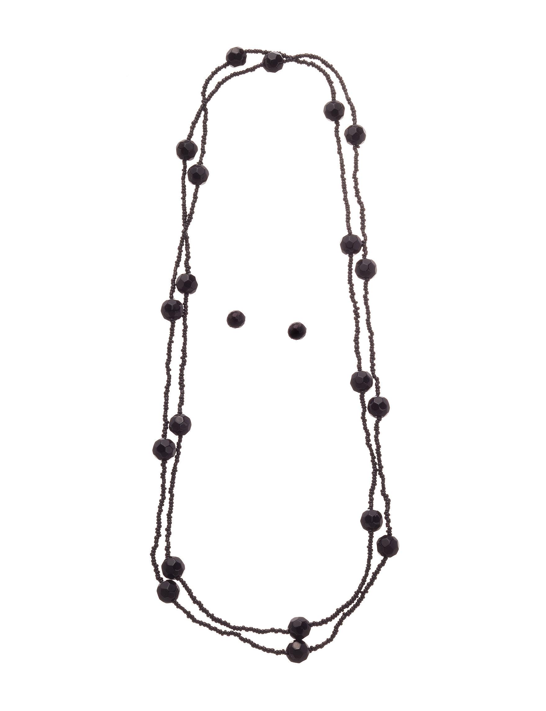 Hannah Black Studs Jewelry Sets Fashion Jewelry