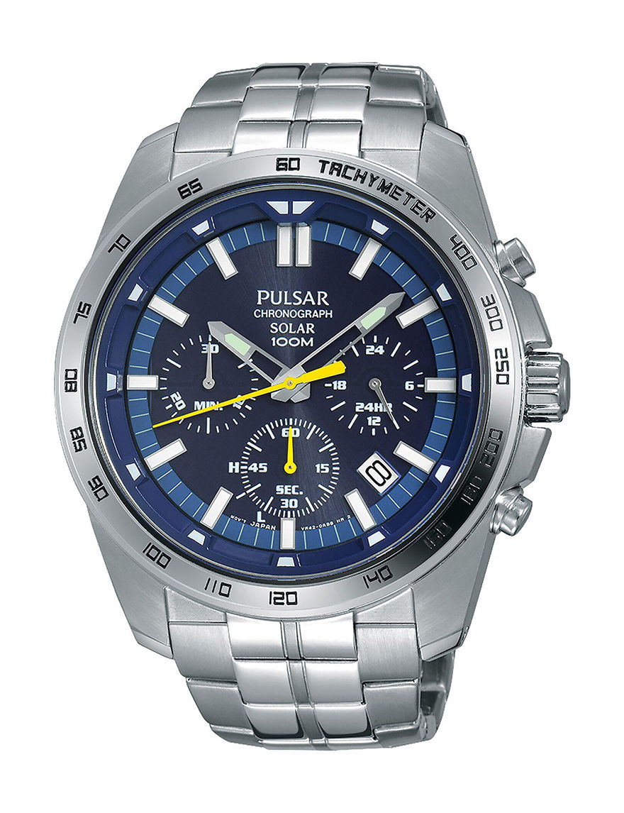 Pulsar Silver Fashion Watches