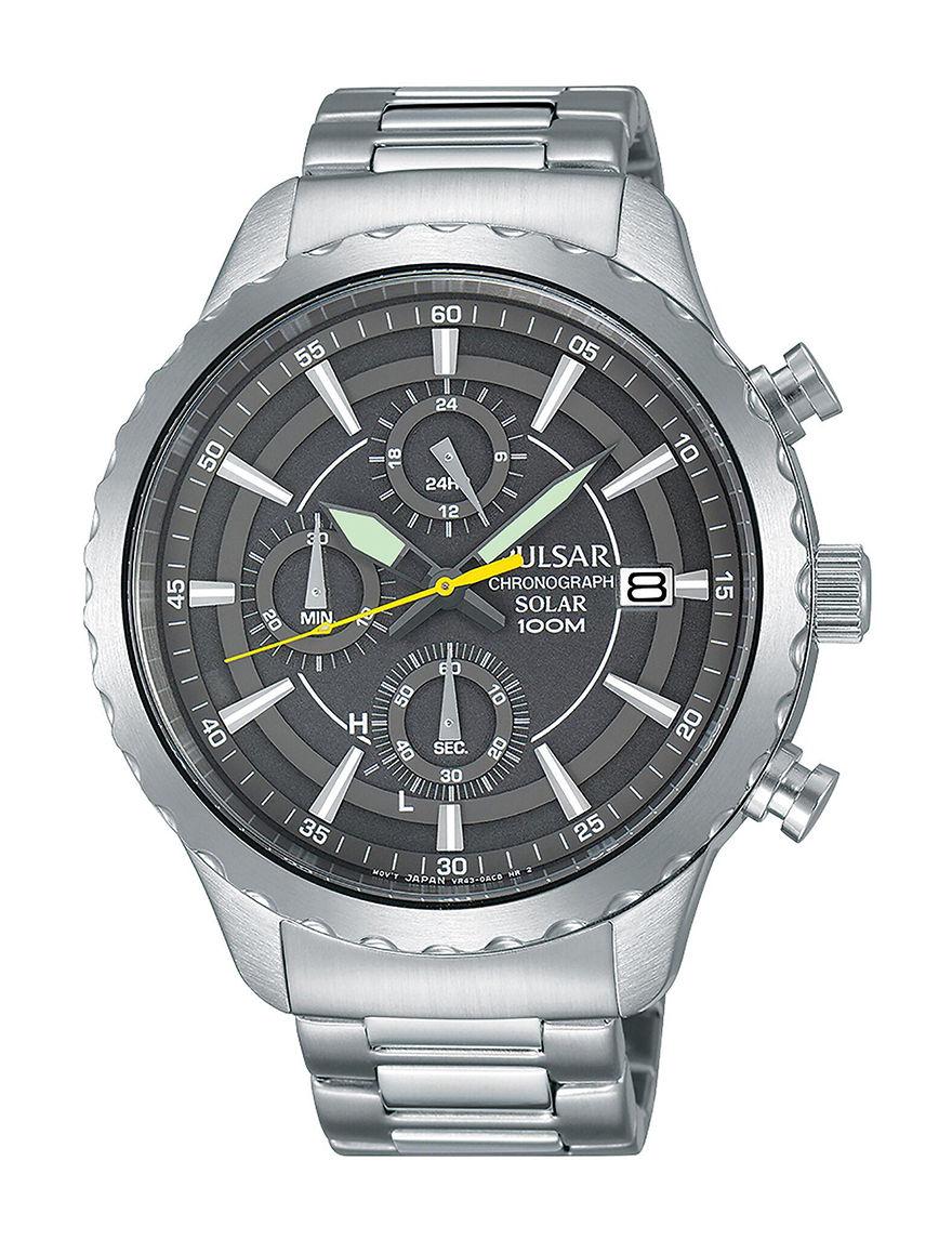 Pulsar Silver Fashion Watches