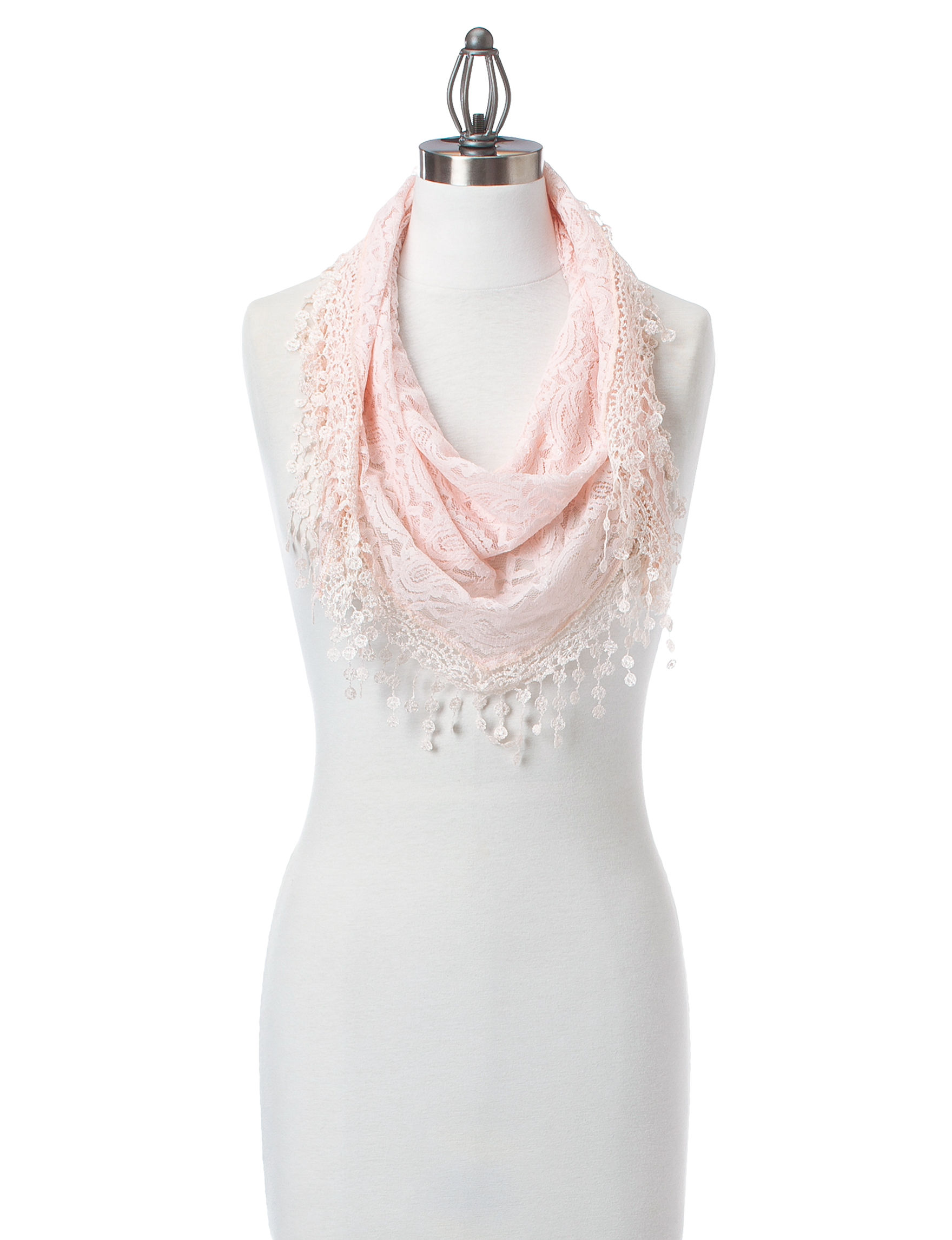 Basha Pink Scarves & Wraps