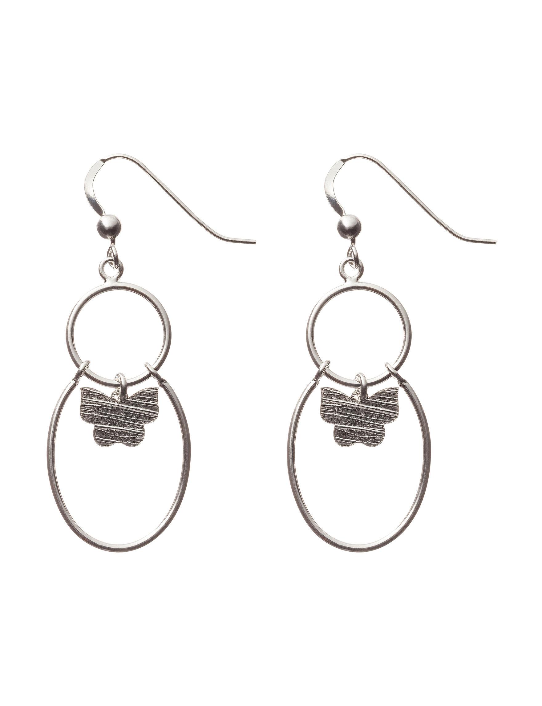 Cellini Clear Earrings Fine Jewelry