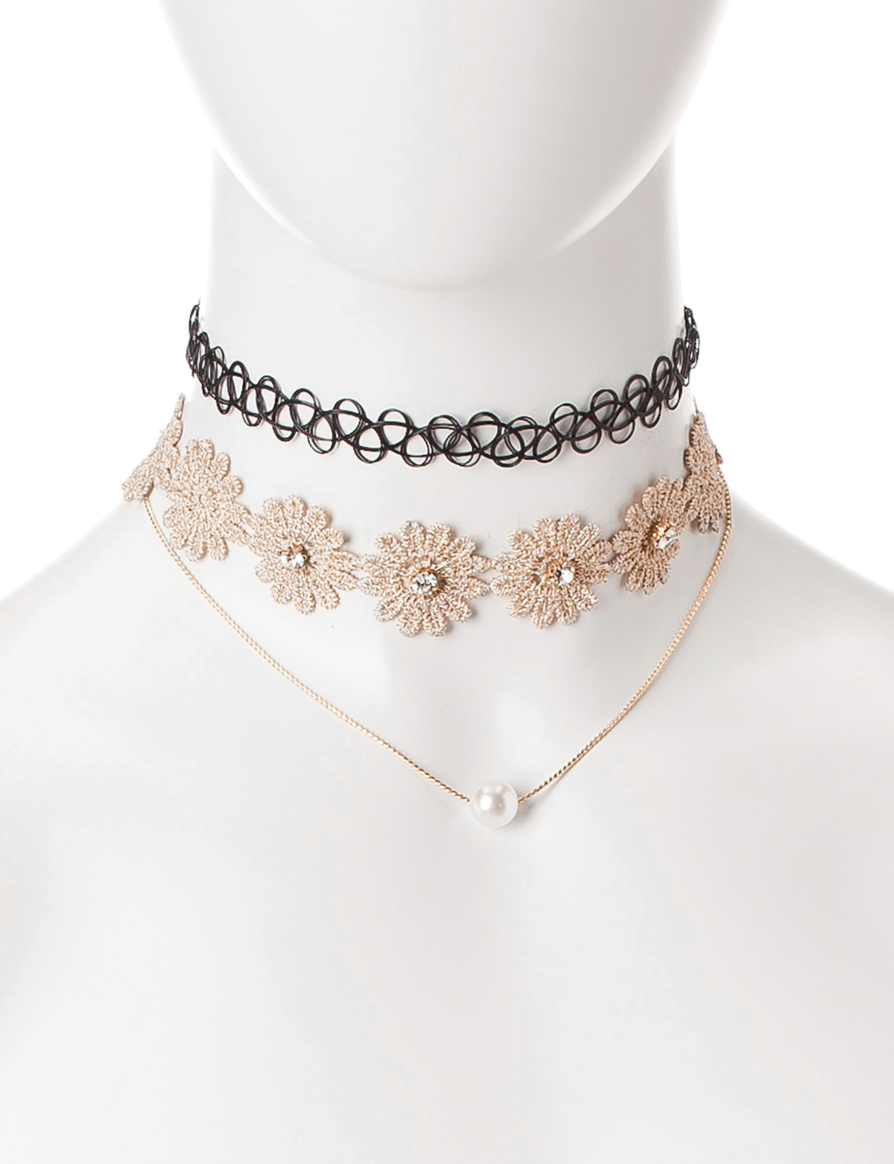 Hannah Beige / Multi Jewelry Sets Necklaces & Pendants Fashion Jewelry