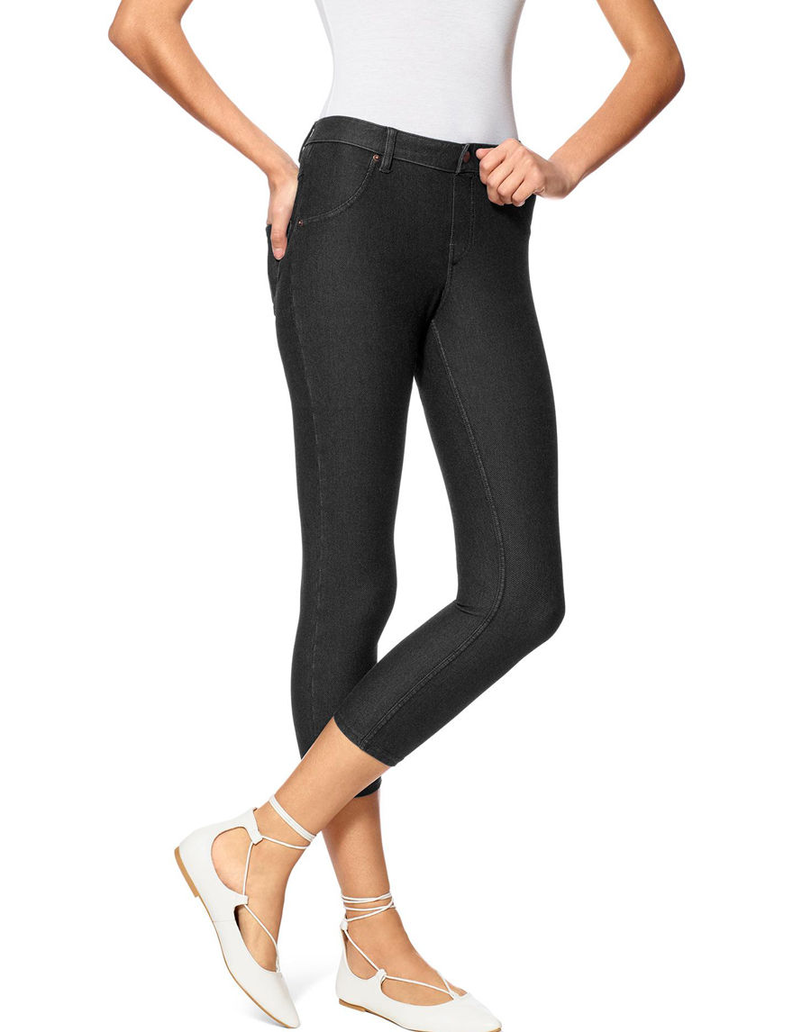 Hue Black Jeggings Leggings