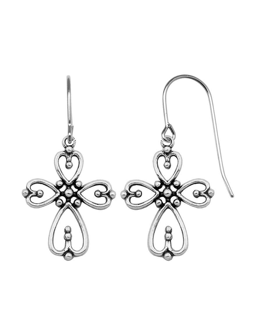 PAJ INC. White Earrings Fine Jewelry