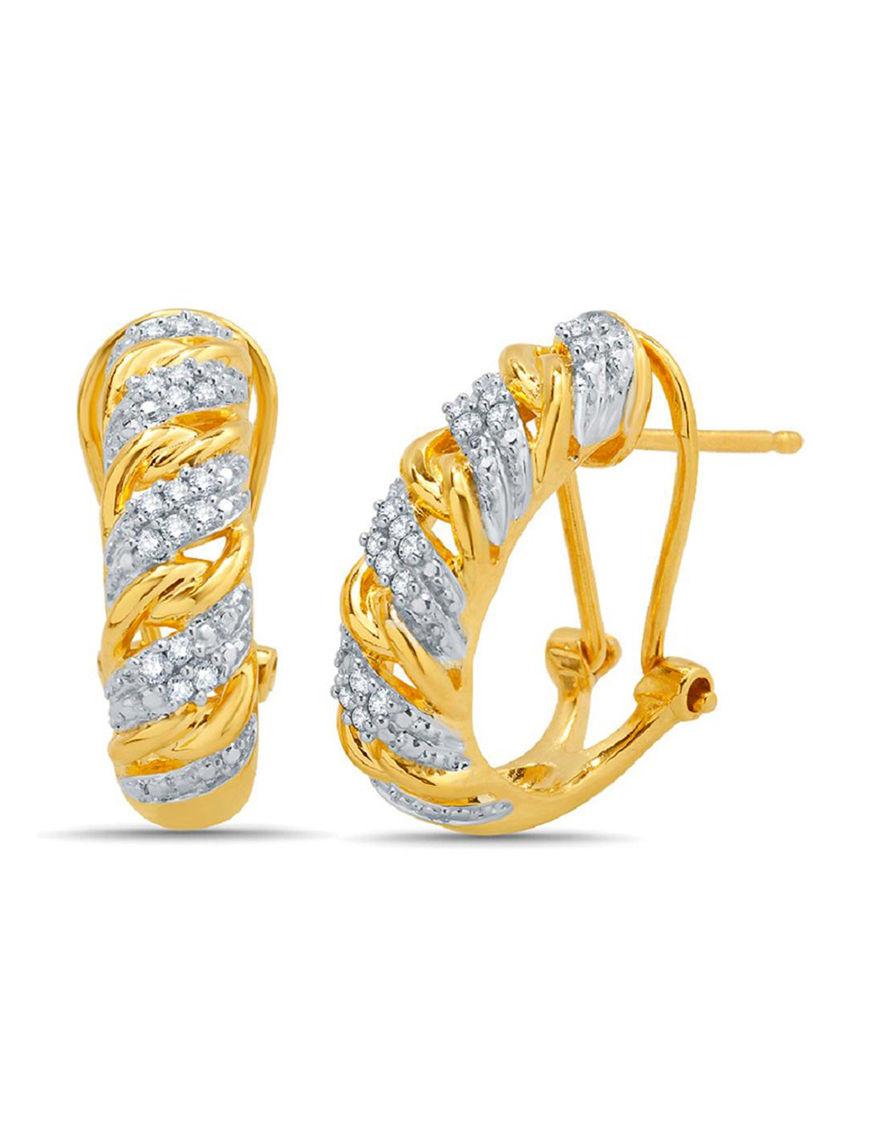 Yellow Earrings Fine Jewelry