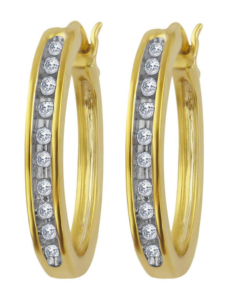 Hoops Earrings Fine Jewelry