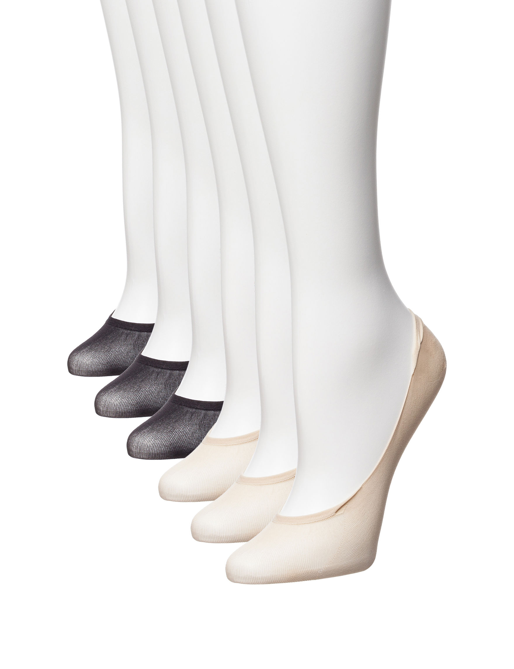 Hue White Socks
