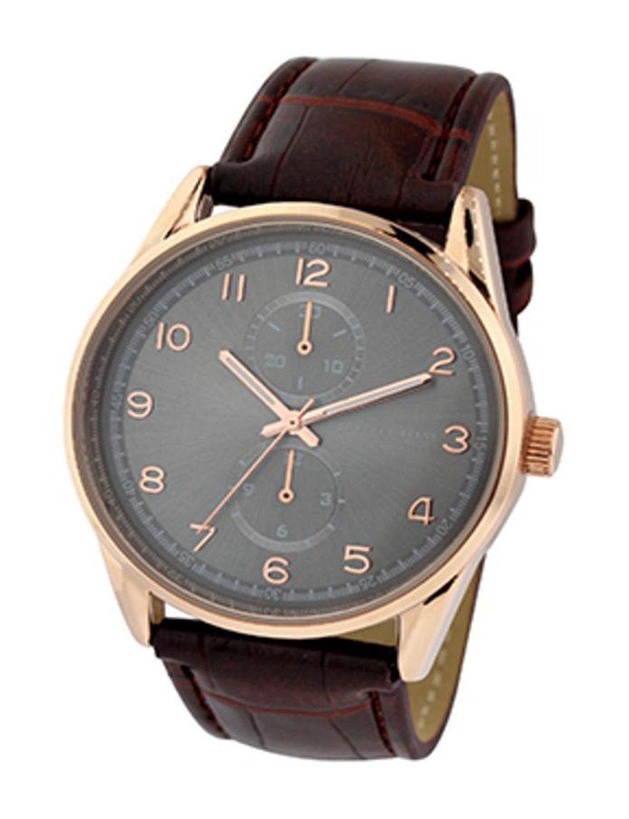 Geoffrey Beene Rose Gold Fashion Watches