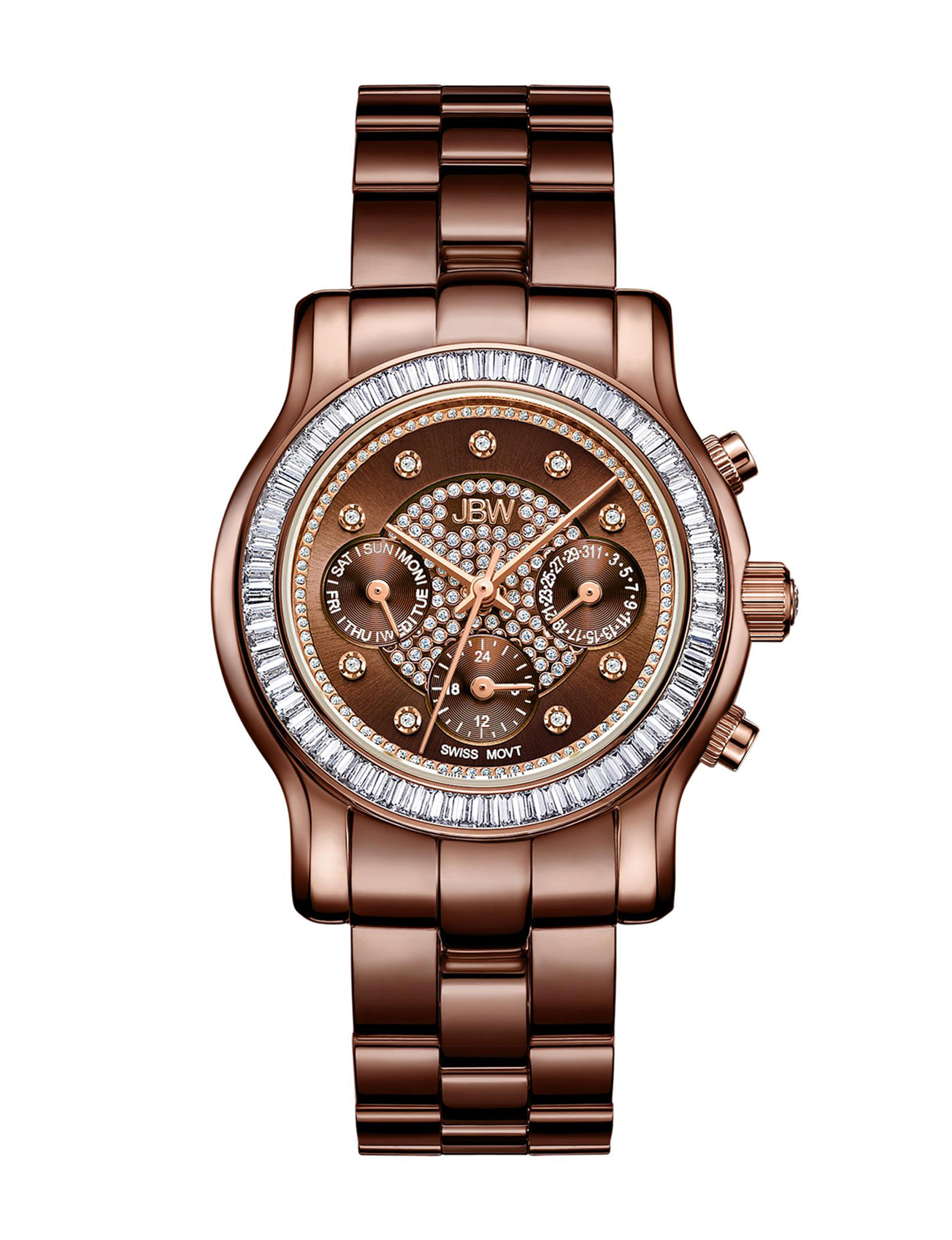 JBW Brown Fashion Watches