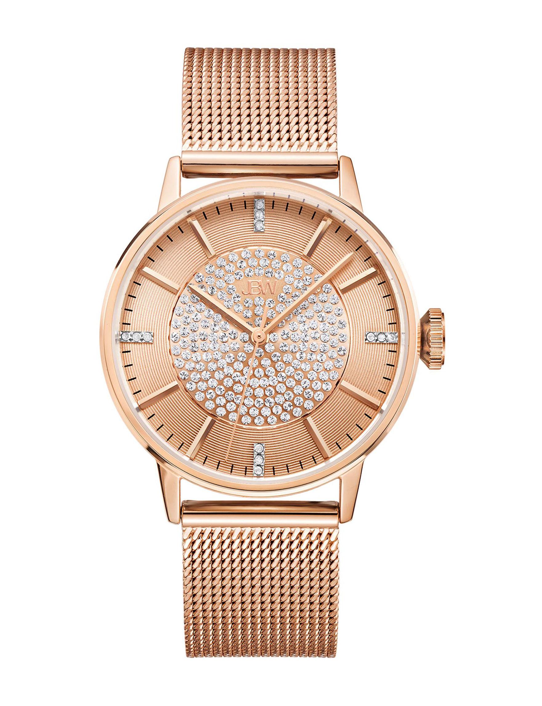 JBW Rose Gold Fashion Watches