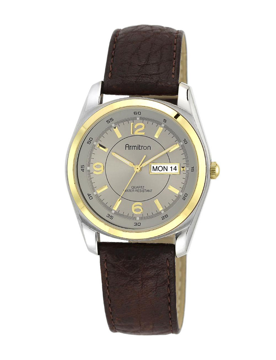 Armitron Brown Fashion Watches