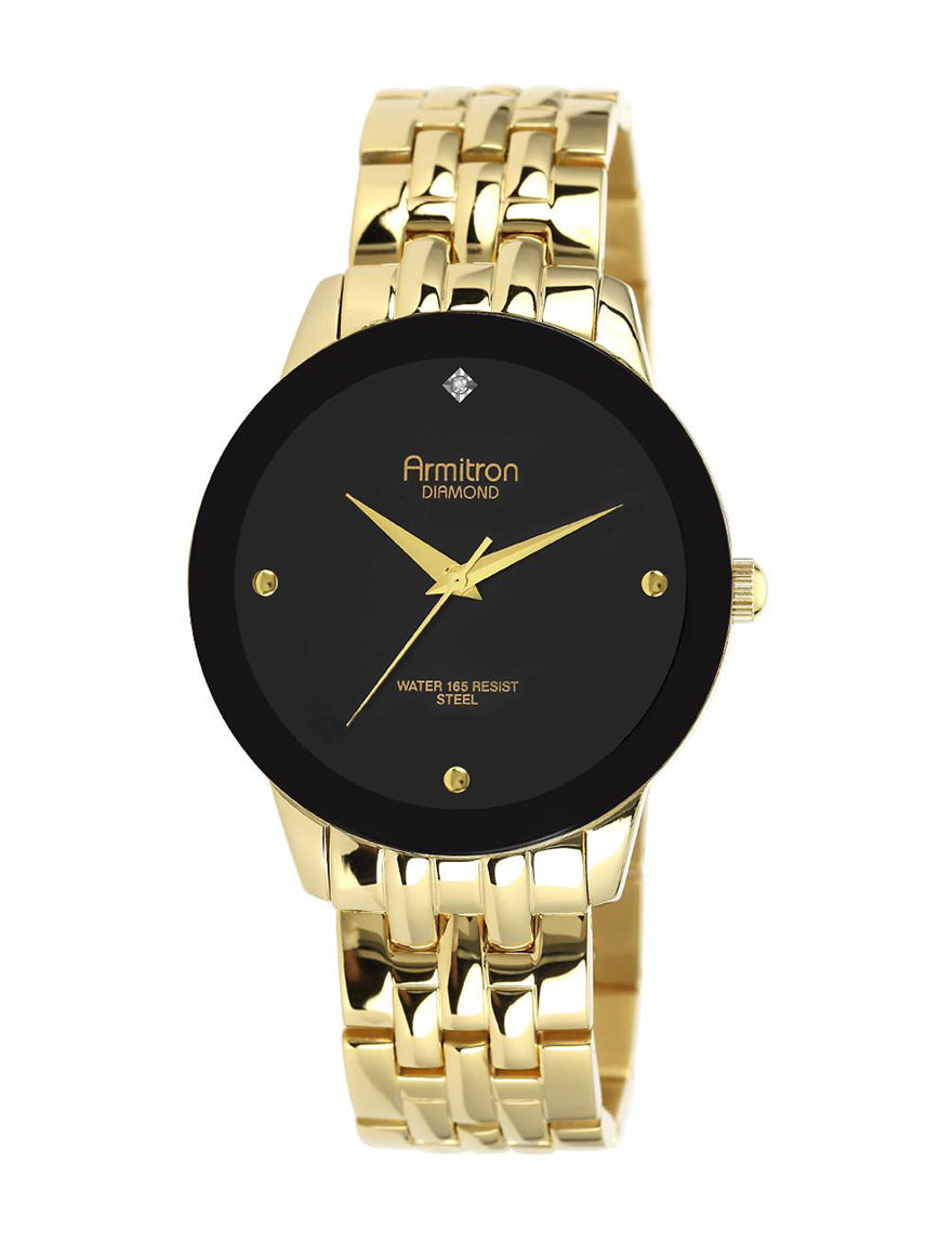 Armitron Gold Fashion Watches