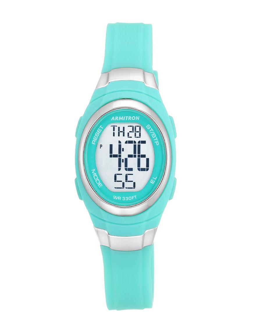 Armitron Teal Sport Watches