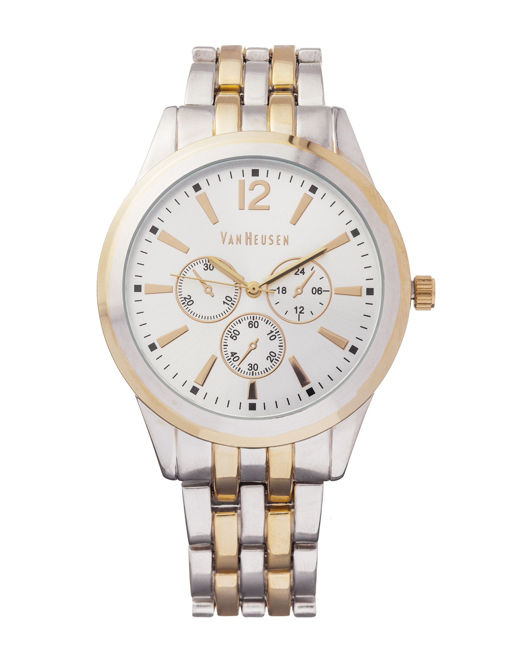 Van Heusen Two Tone Fashion Watches