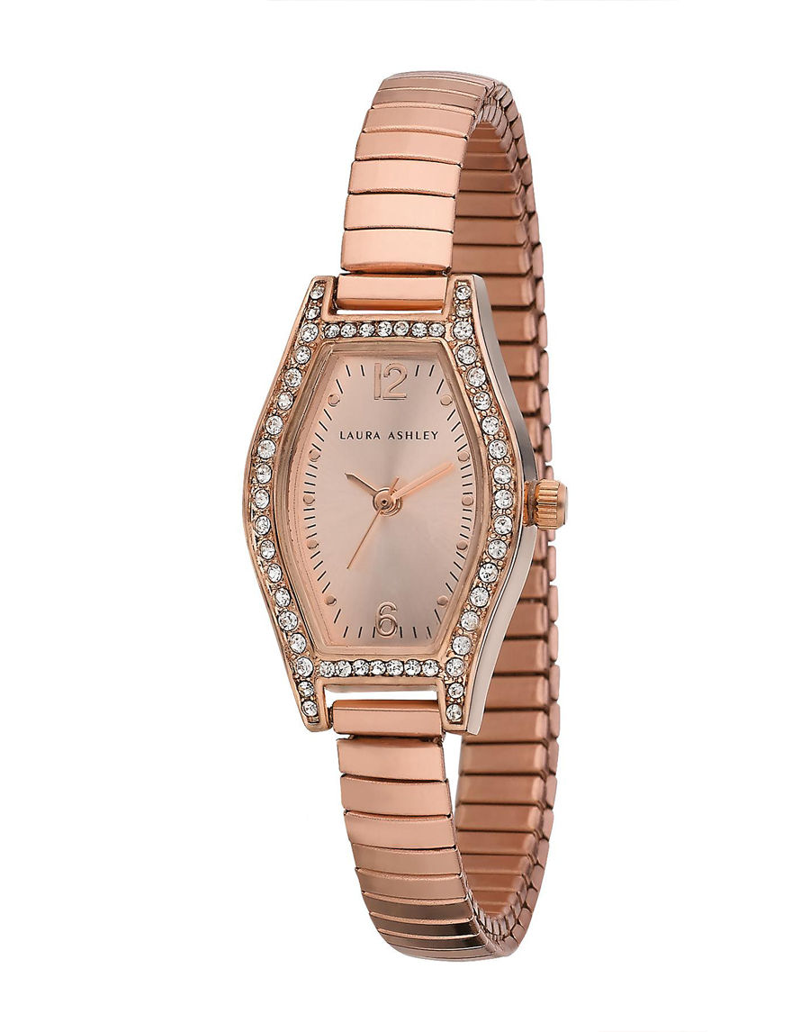 Laura Ashley Rose Gold Fashion Watches