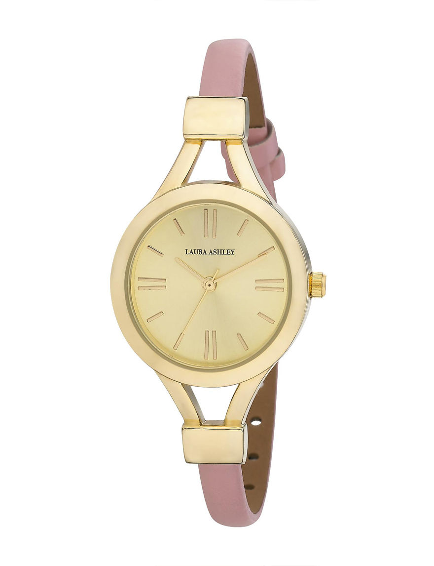 Laura Ashley Gold Fashion Watches
