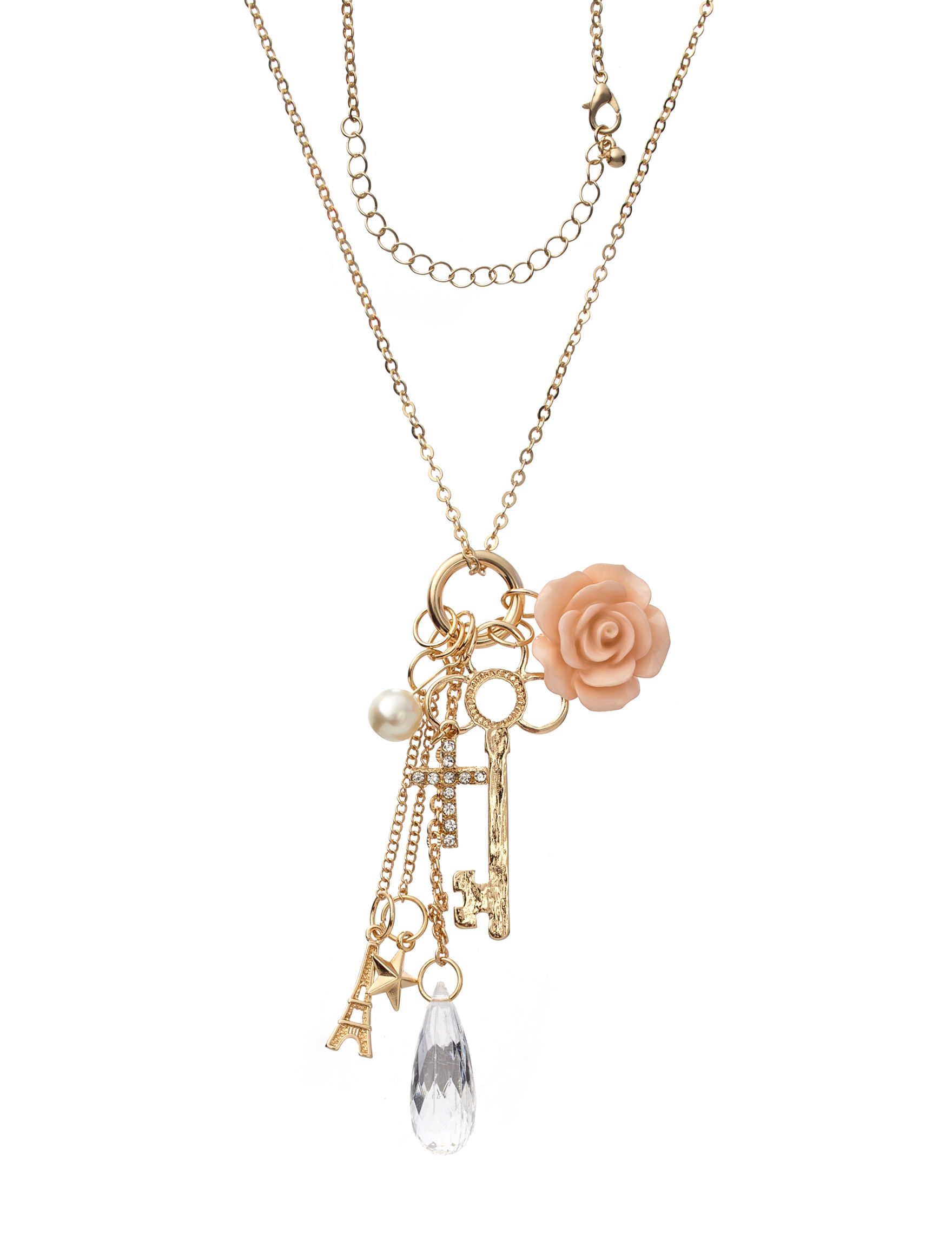 Hannah Pink Necklaces & Pendants Fashion Jewelry