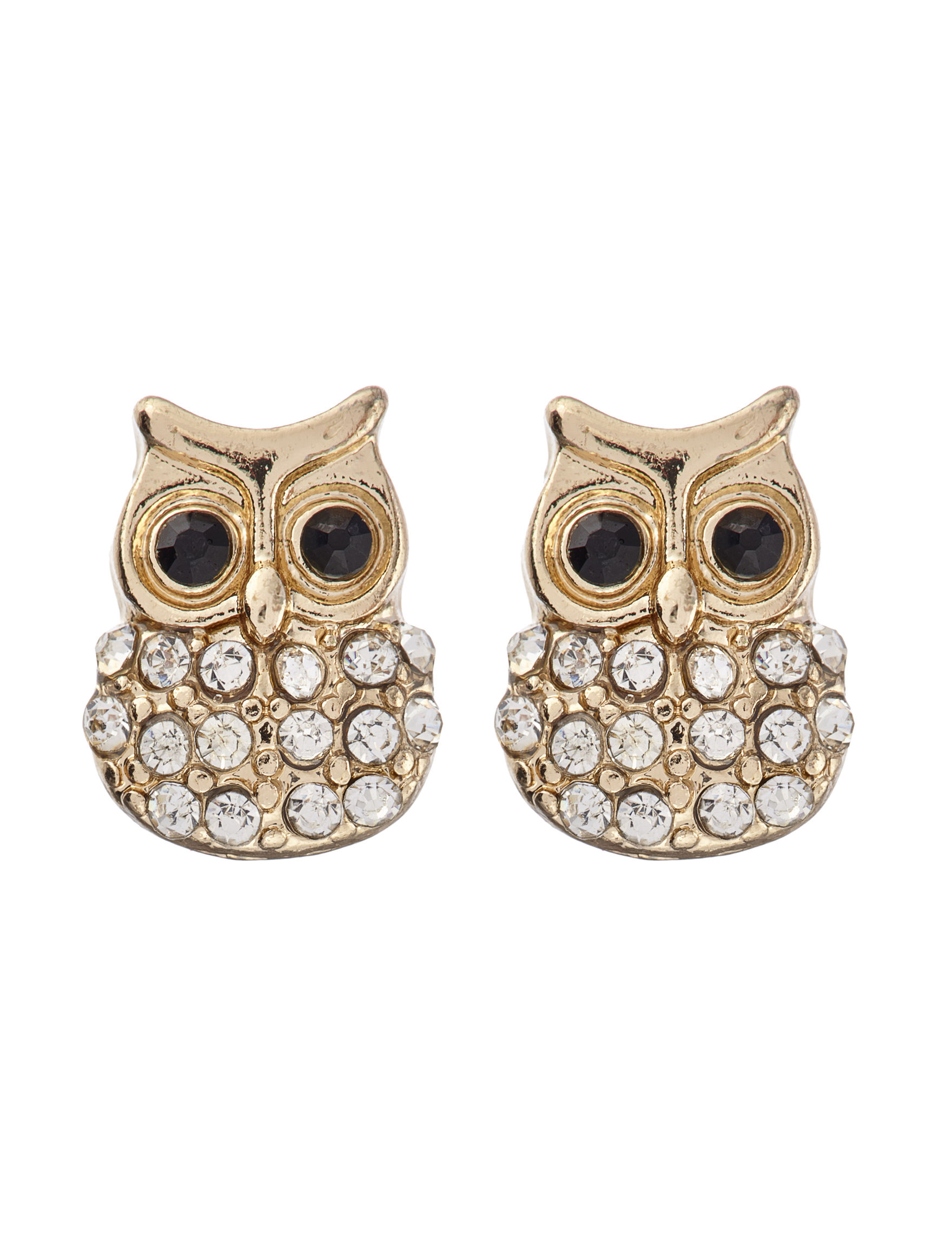 Hannah White Studs Earrings Fashion Jewelry
