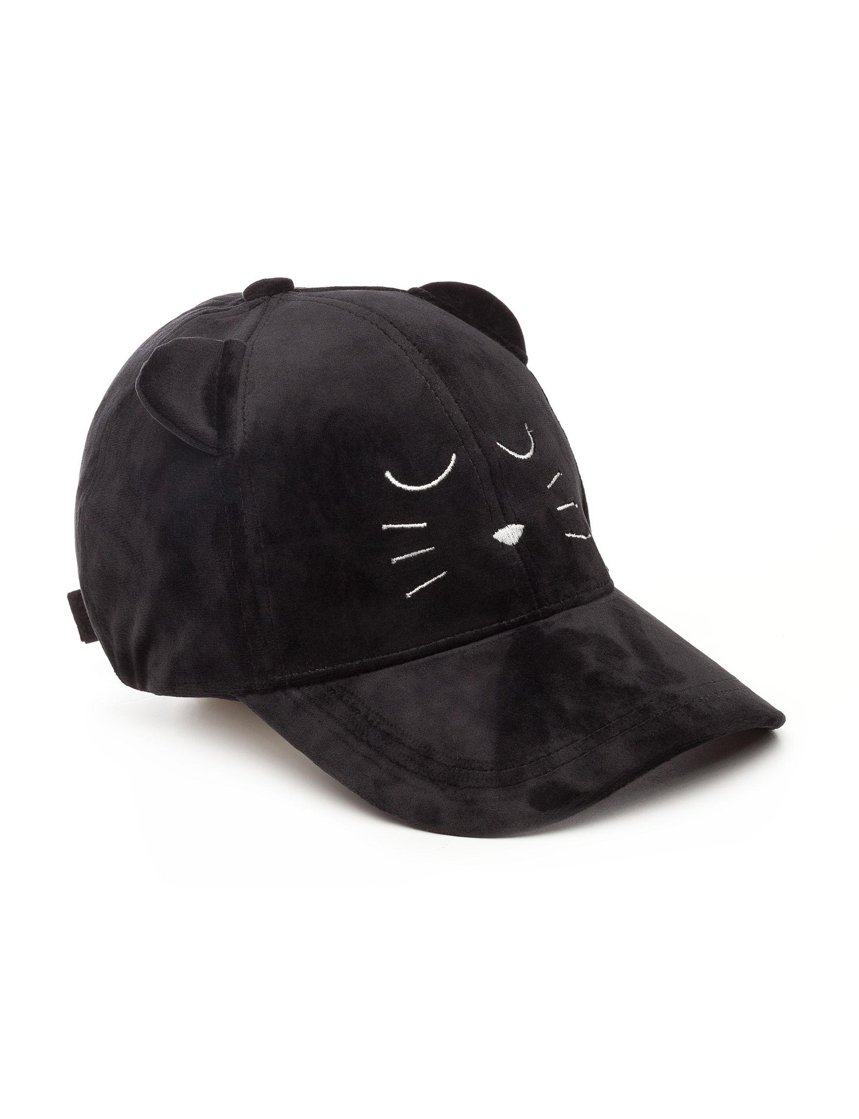 David & Young Black Hats & Headwear