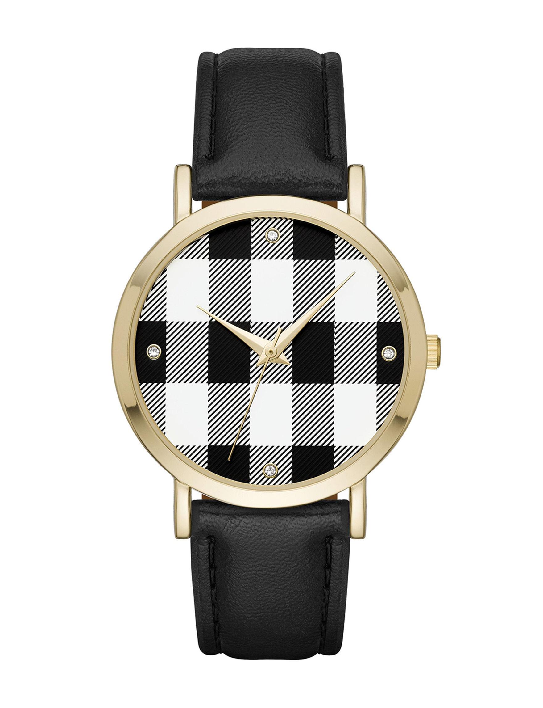 Black / White Fashion Watches