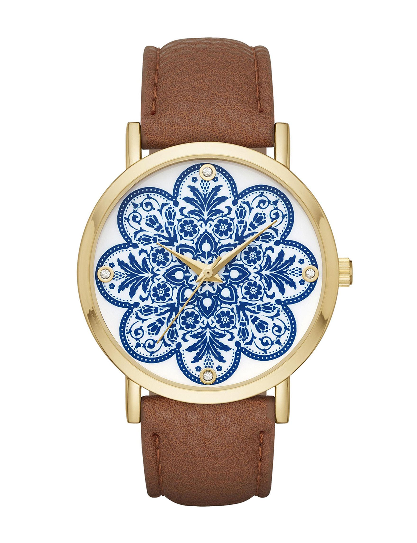 Blue / White Fashion Watches