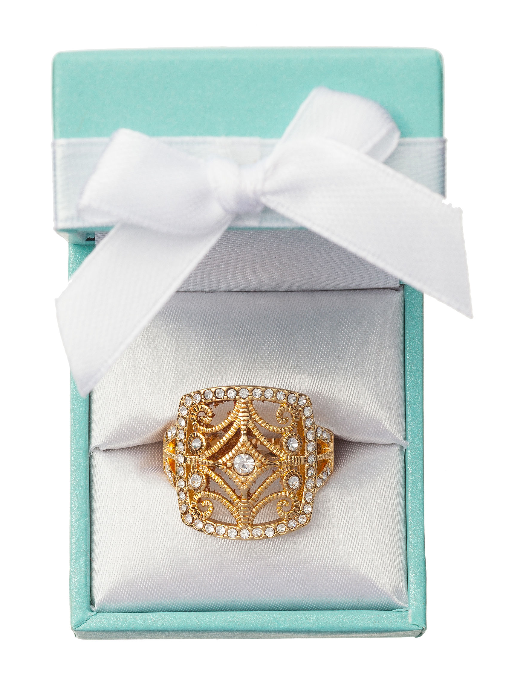 City by City Clear Rings Fashion Jewelry