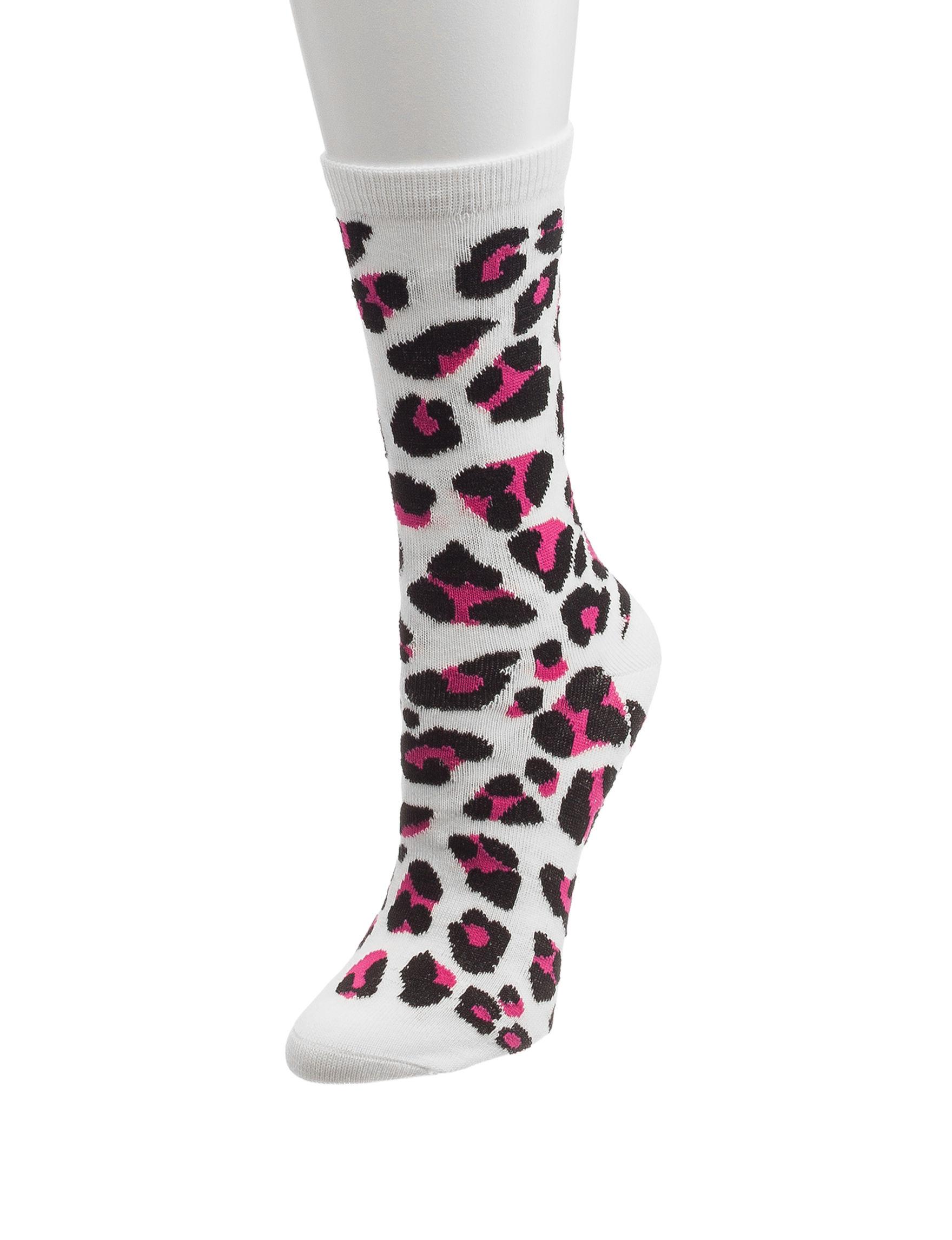 Novelty Beige Socks