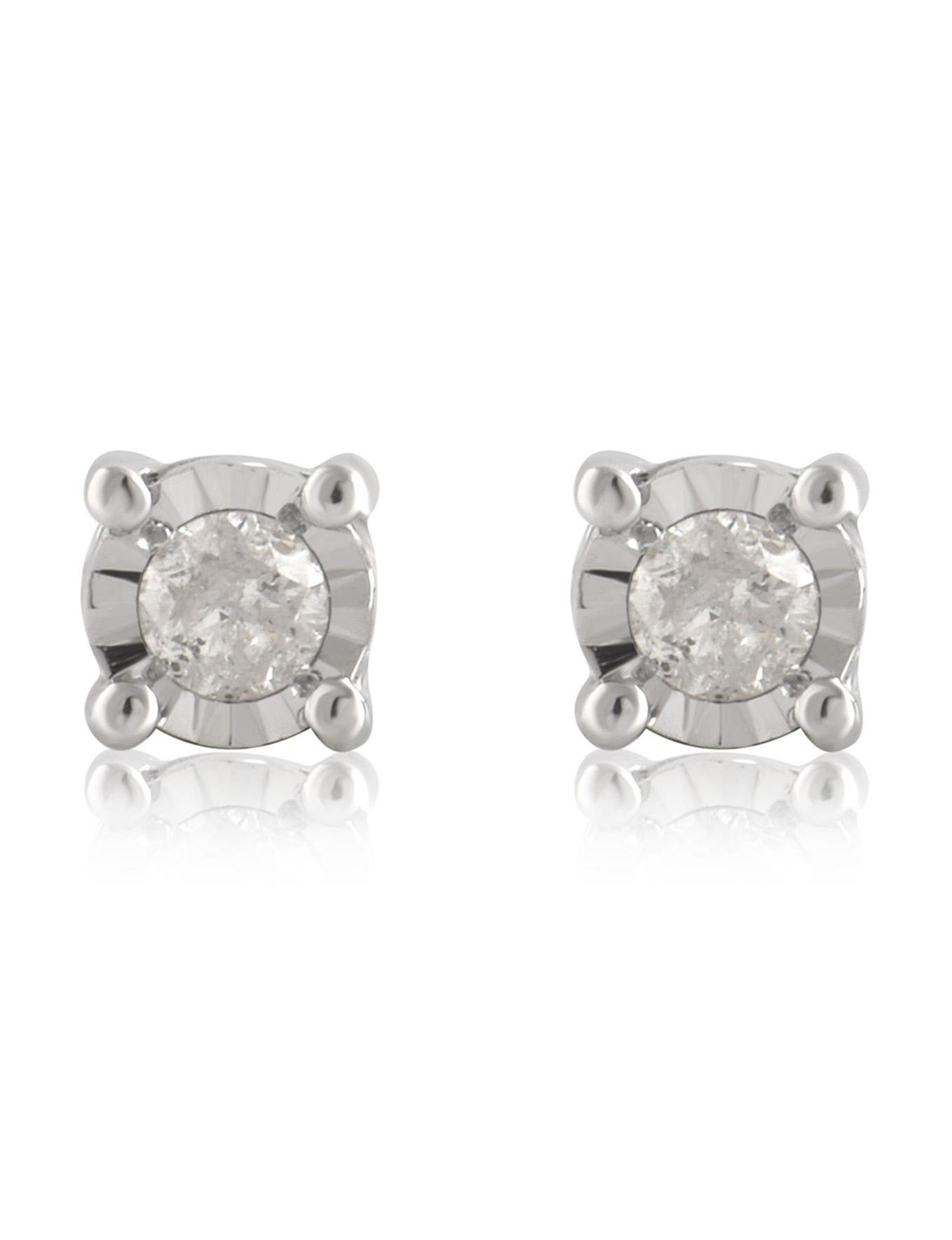 Silver Earrings Fine Jewelry