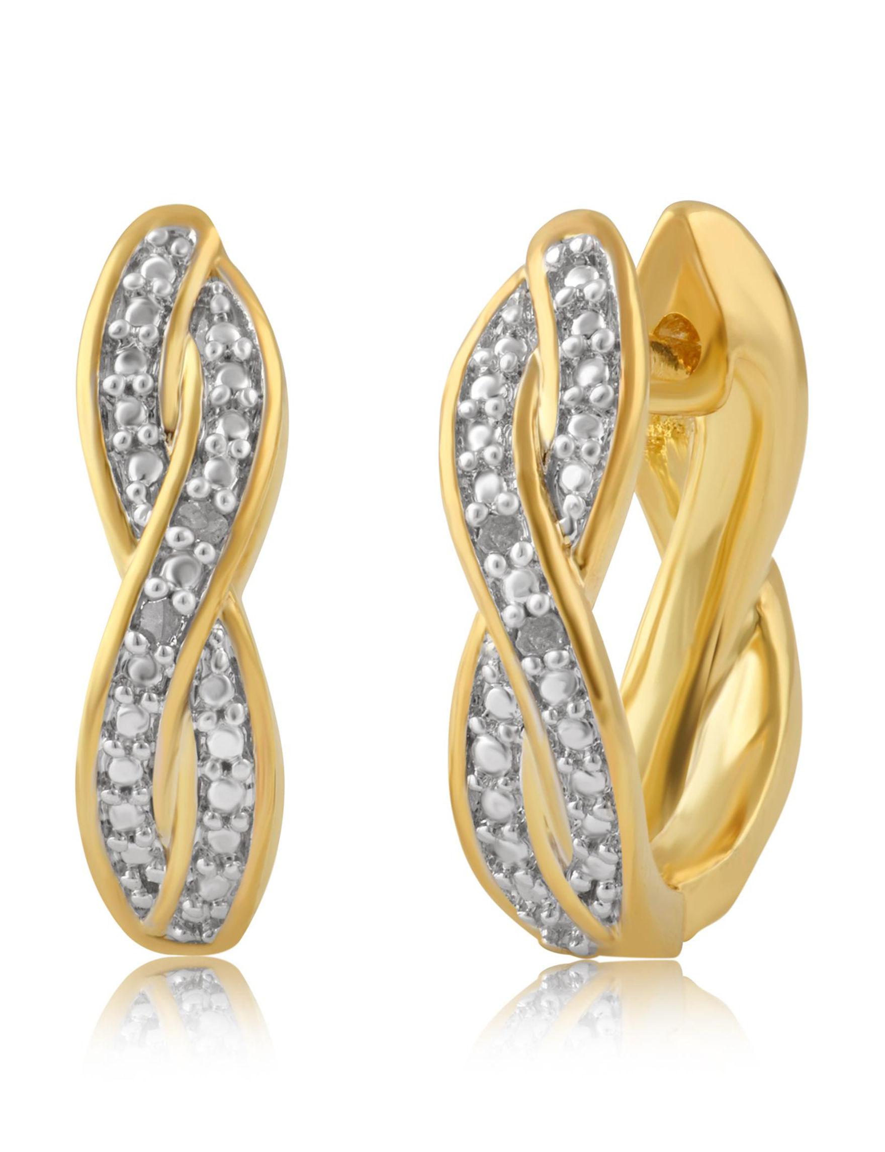Gold Earrings Fine Jewelry