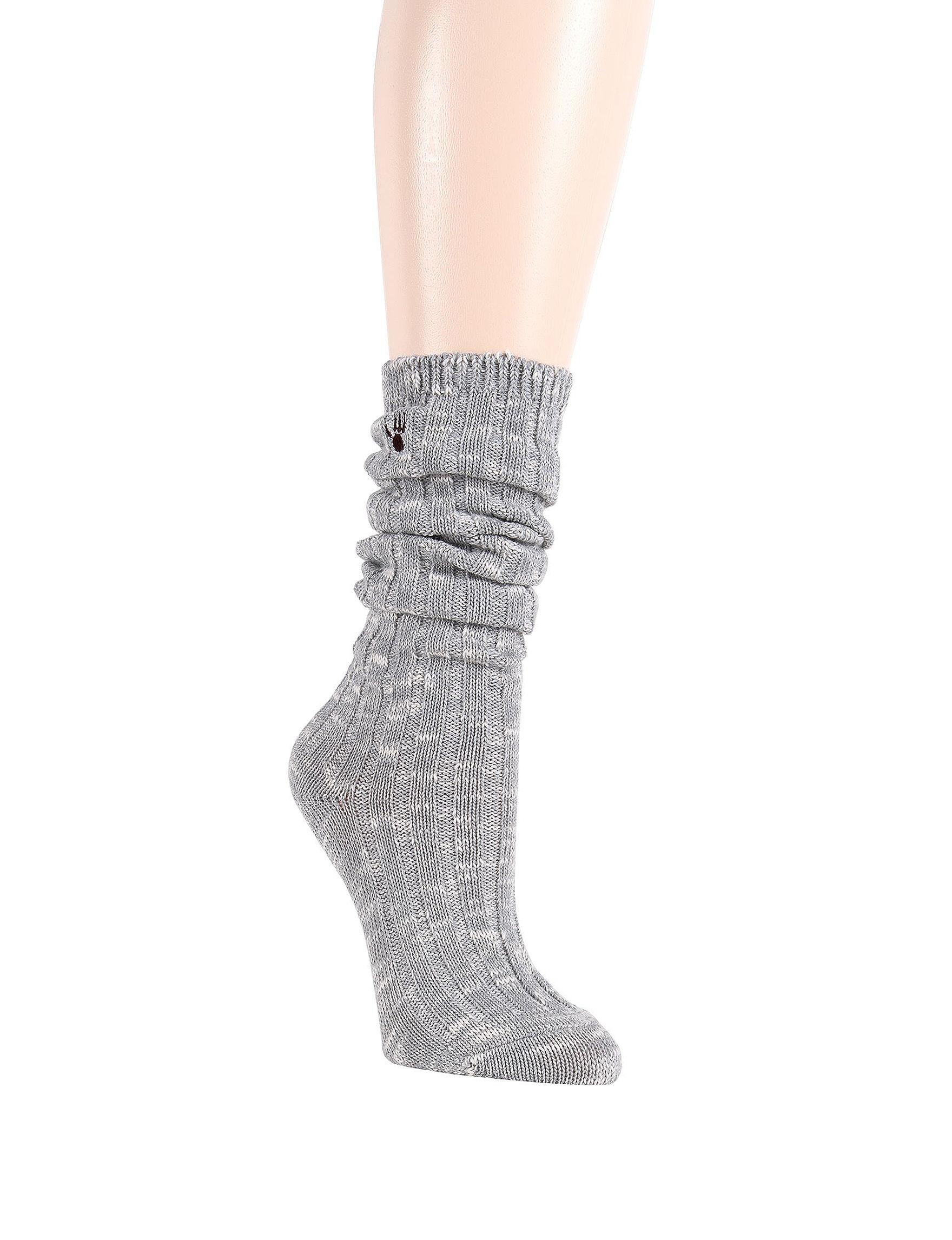 Bearpaw Grey Socks
