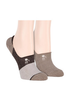 1fb88ee4d68  12.00. Bearpaw Terry Hidden Liner Socks