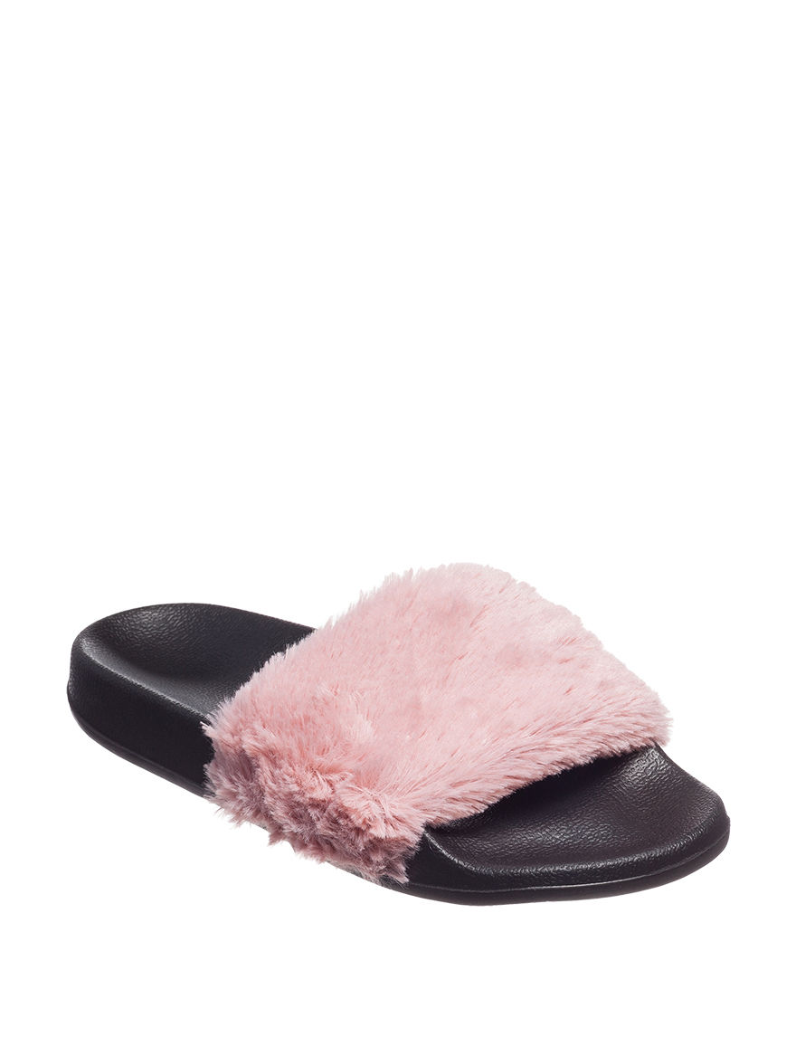 PJ Couture Pink Multi Slipper Shoes