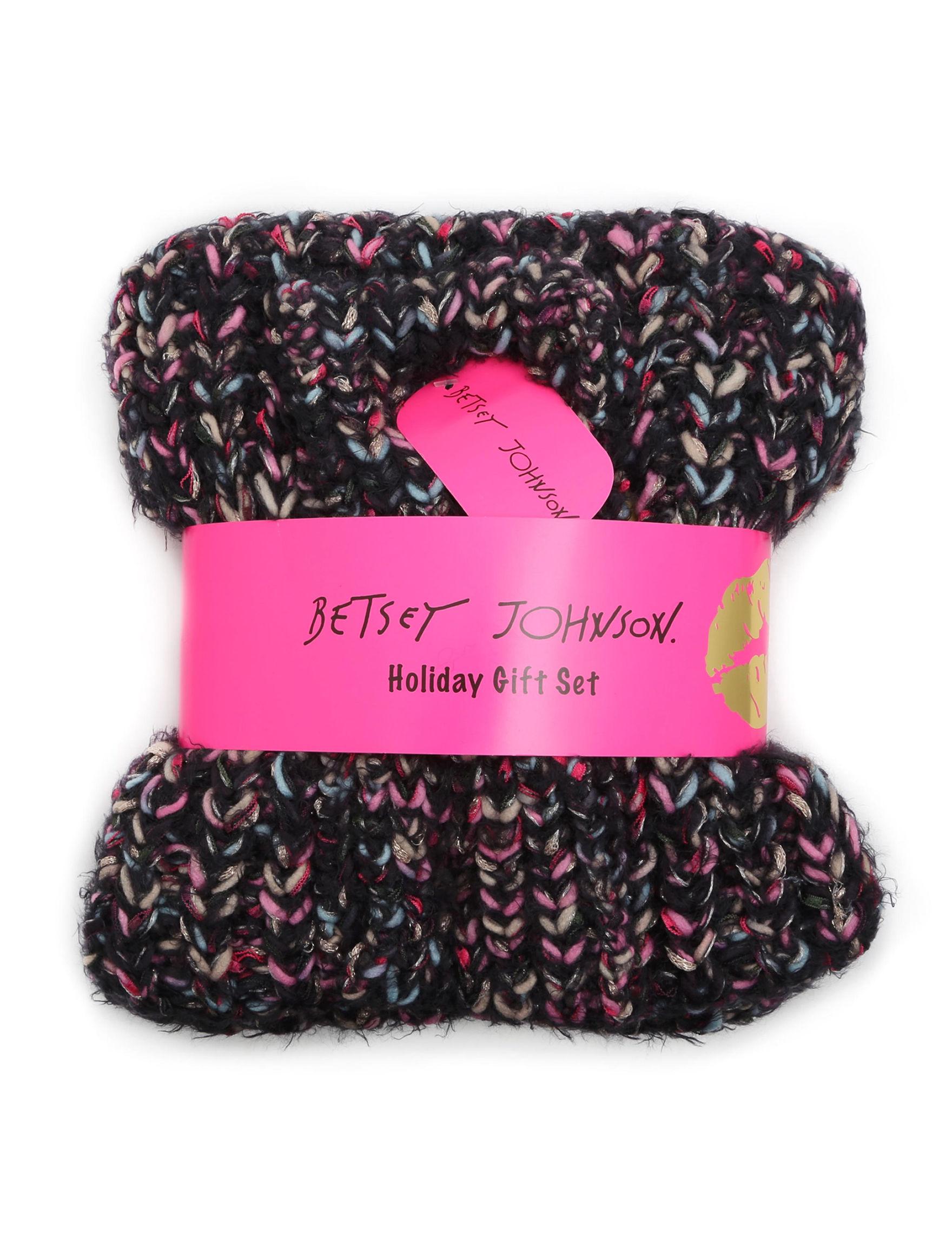 Betsey Johnson Multi Hats & Headwear Scarves & Wraps