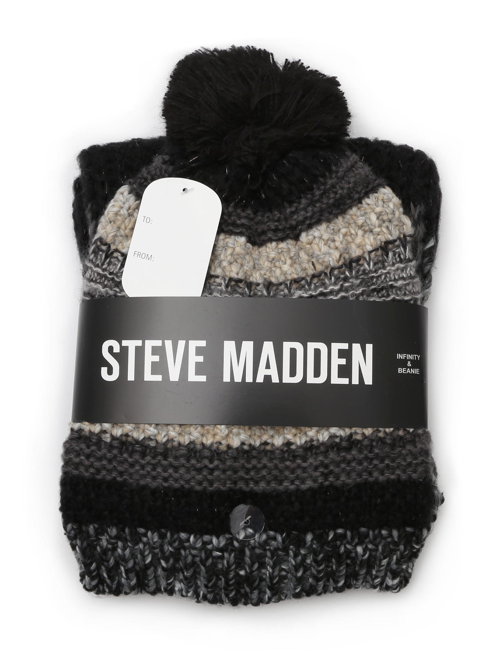 Steve Madden Neutral Hats & Headwear Scarves & Wraps
