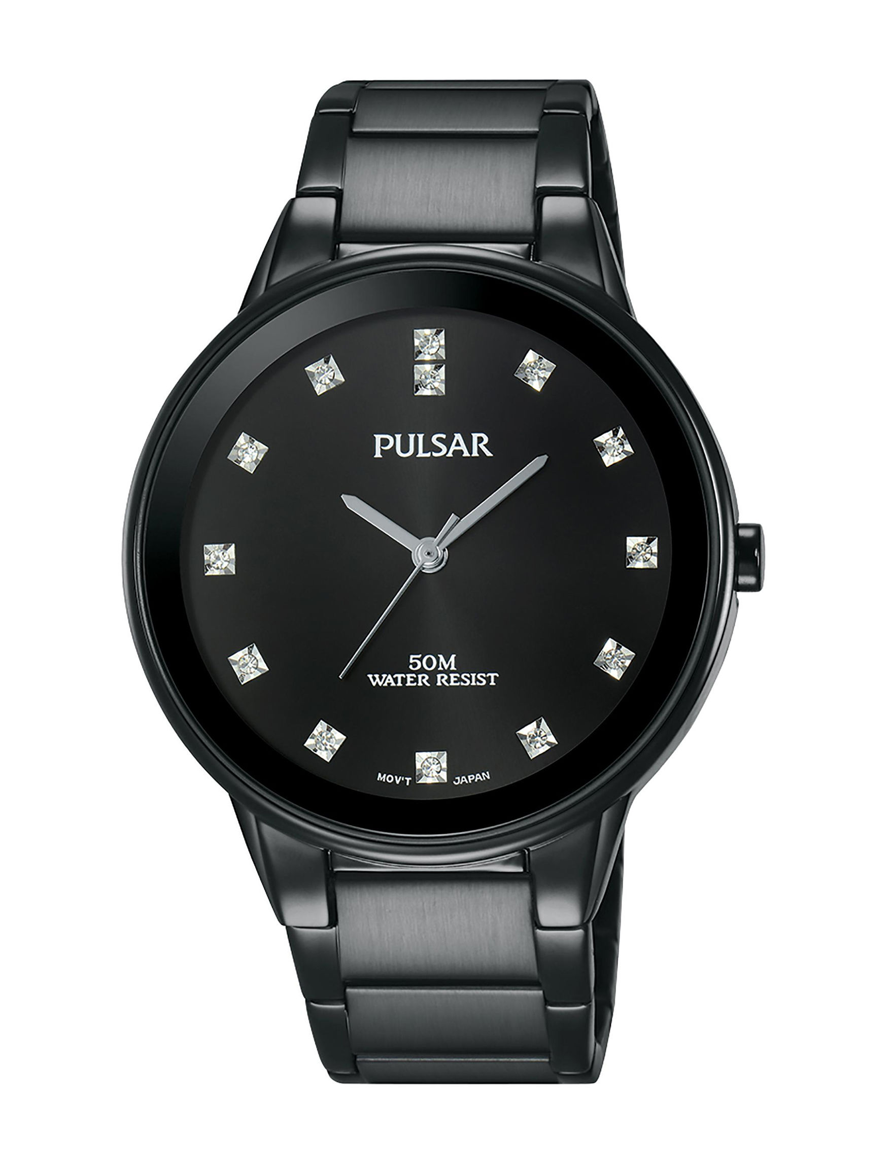 Pulsar Black Fashion Watches