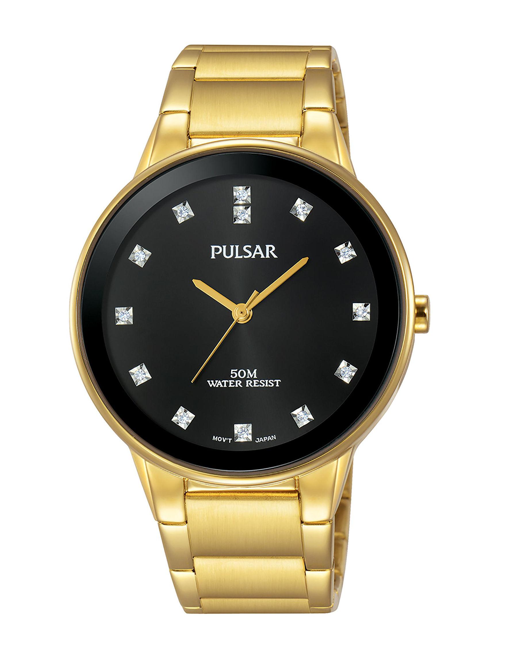 Pulsar Gold Fashion Watches