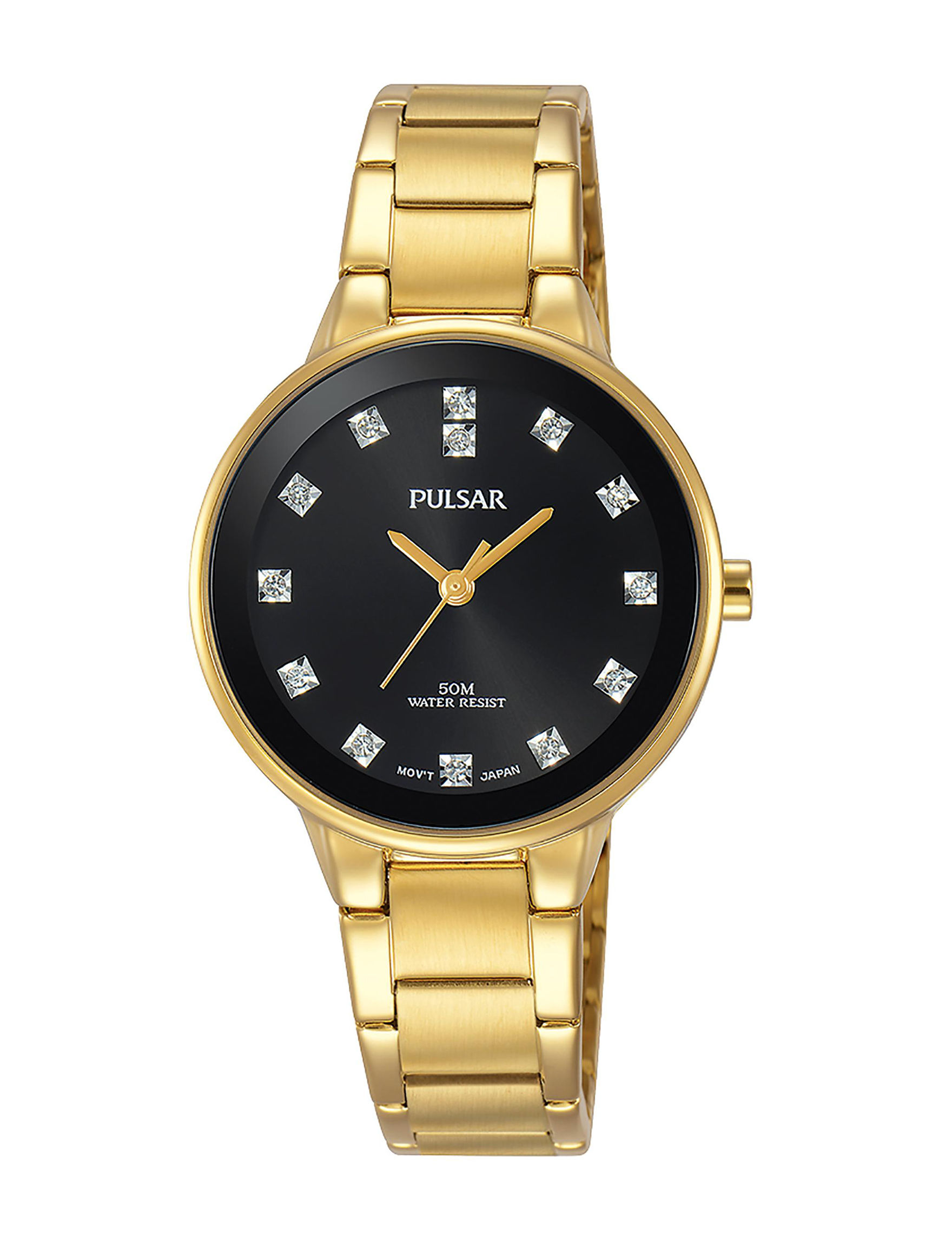 Pulsar Gold Fashion Watches