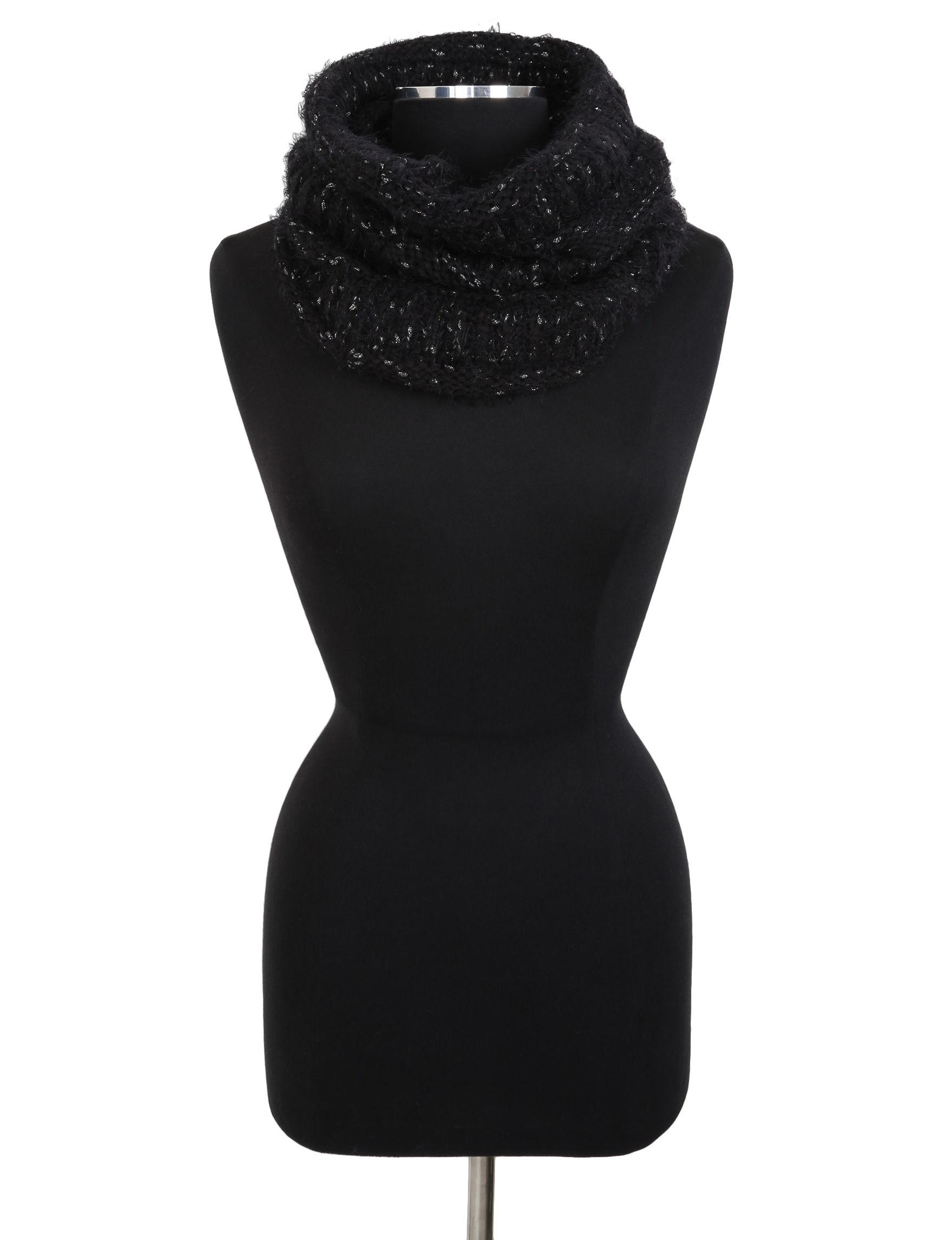 Cejon Black Scarves & Wraps Infinity & Loops