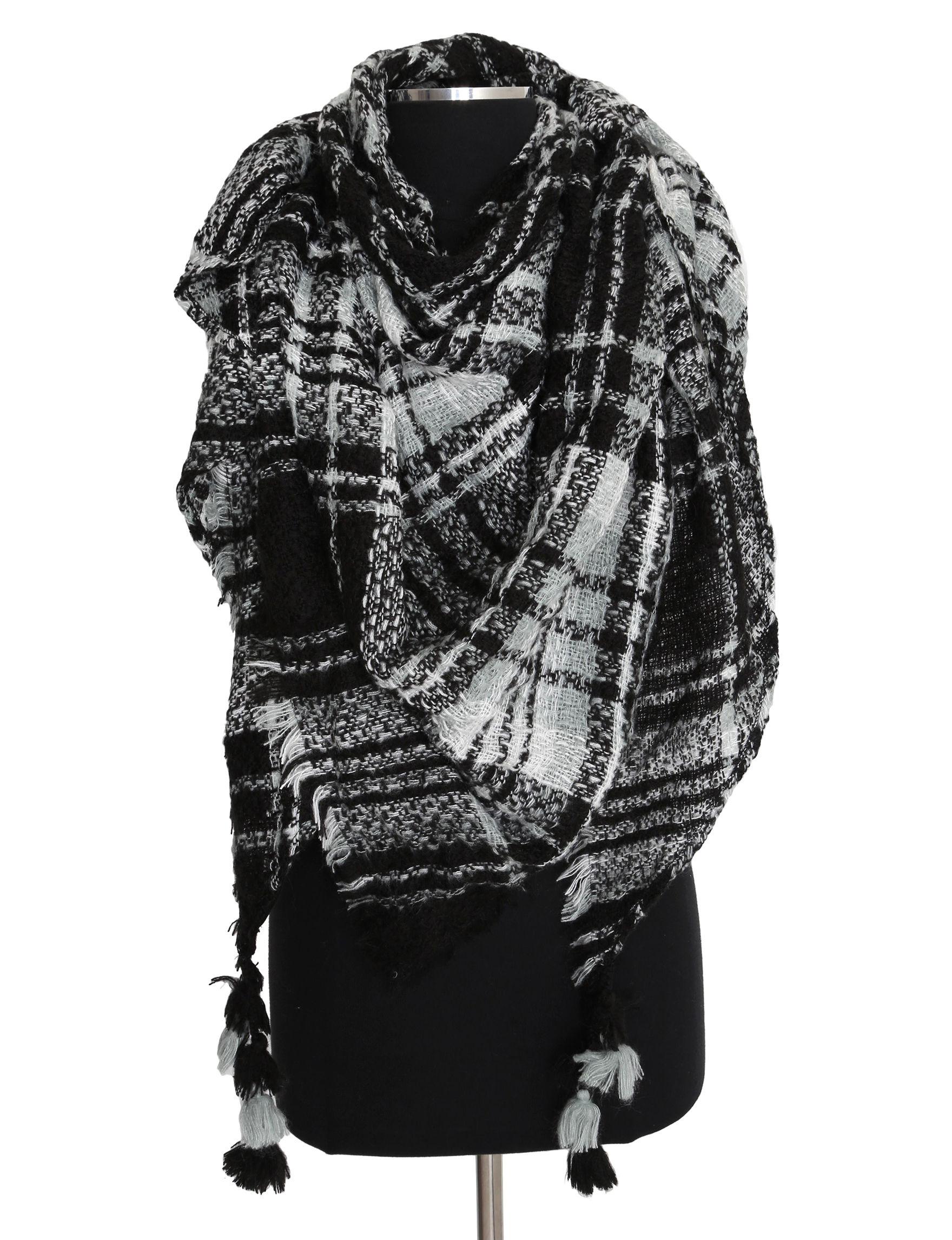 Steve Madden Black Scarves & Wraps