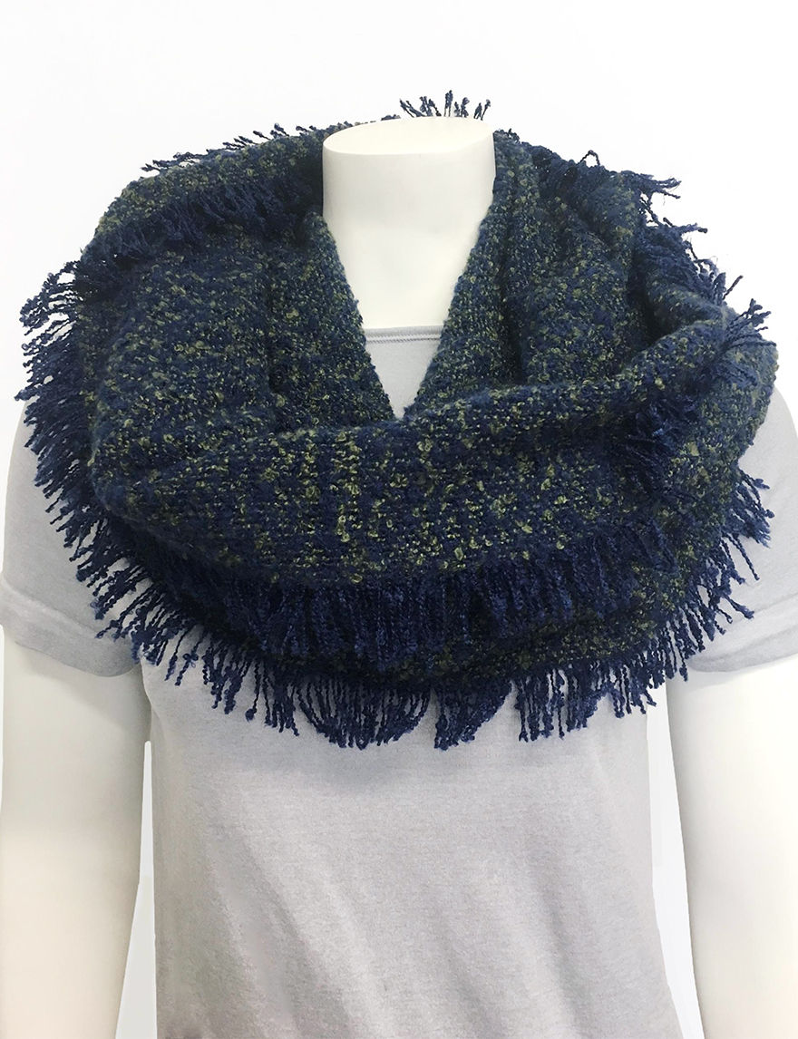 Lake Shore Drive Olive Scarves & Wraps Infinity & Loops