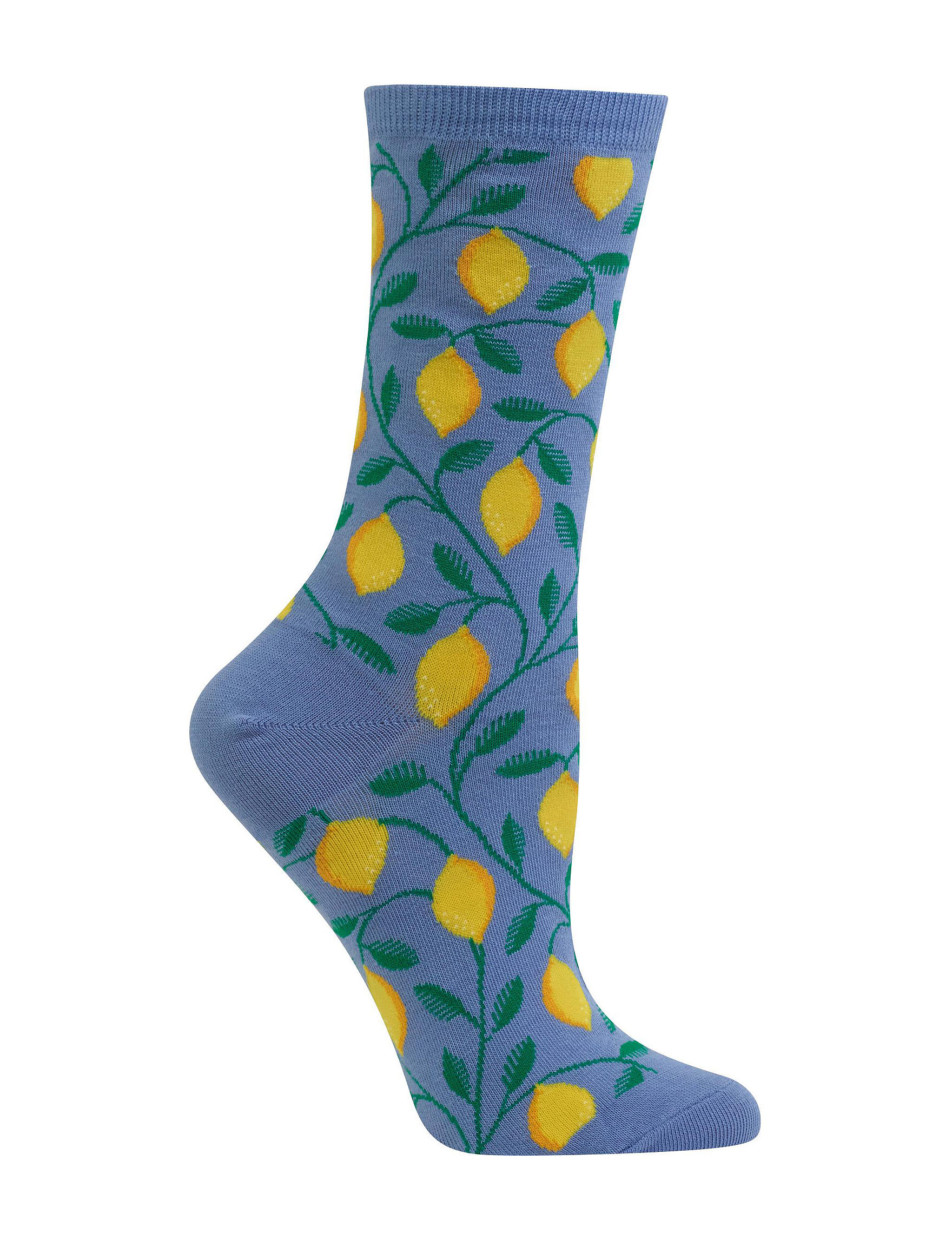 Hot Sox Blue Socks