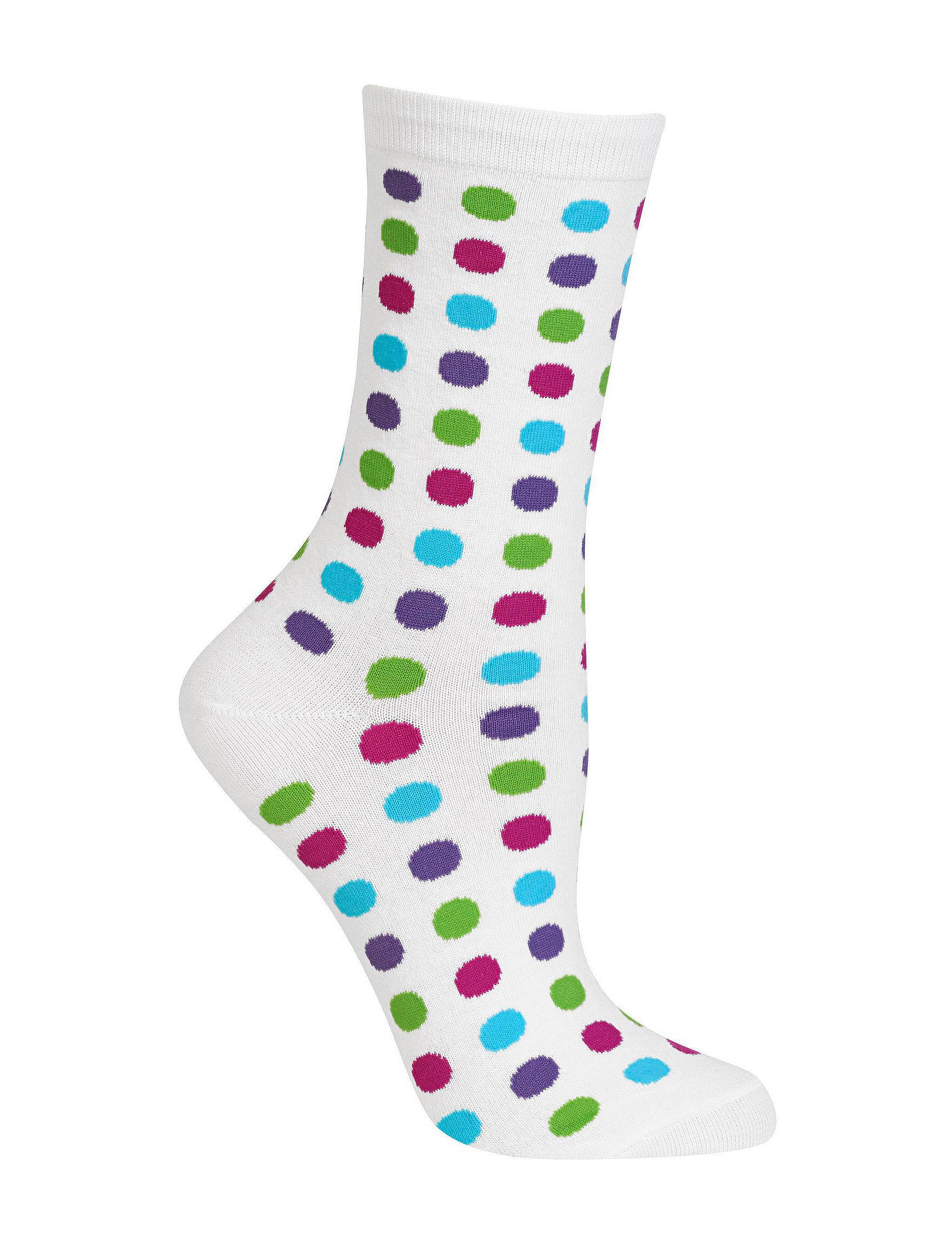 Hot Sox White Socks