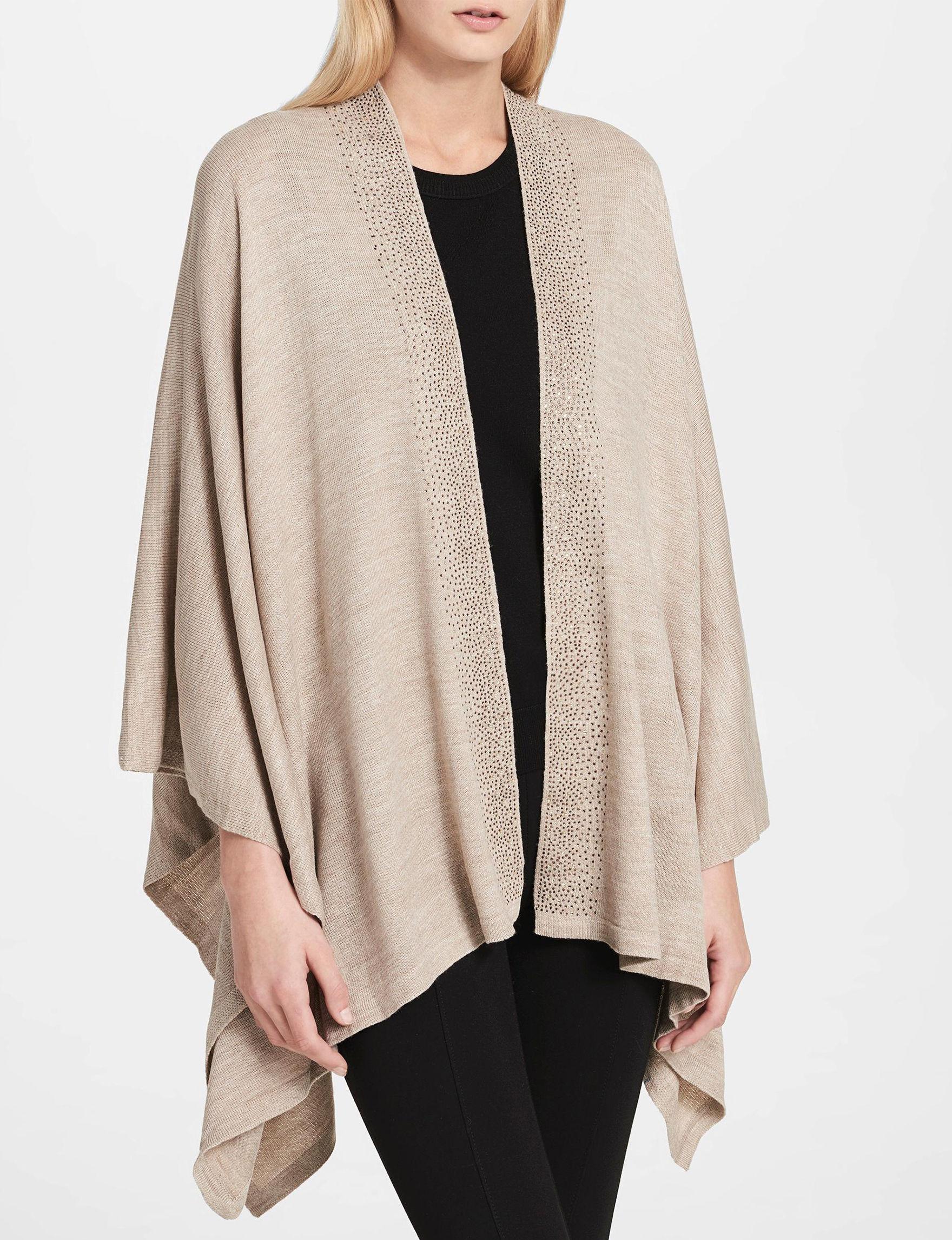 Calvin Klein Beige Scarves & Wraps