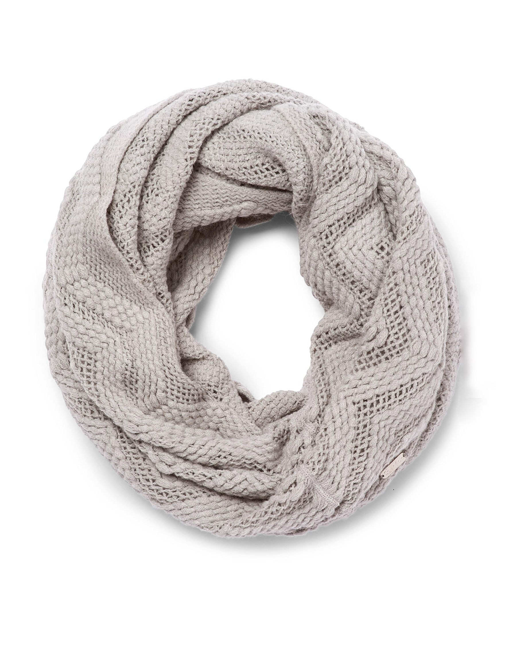 Calvin Klein Grey Scarves & Wraps