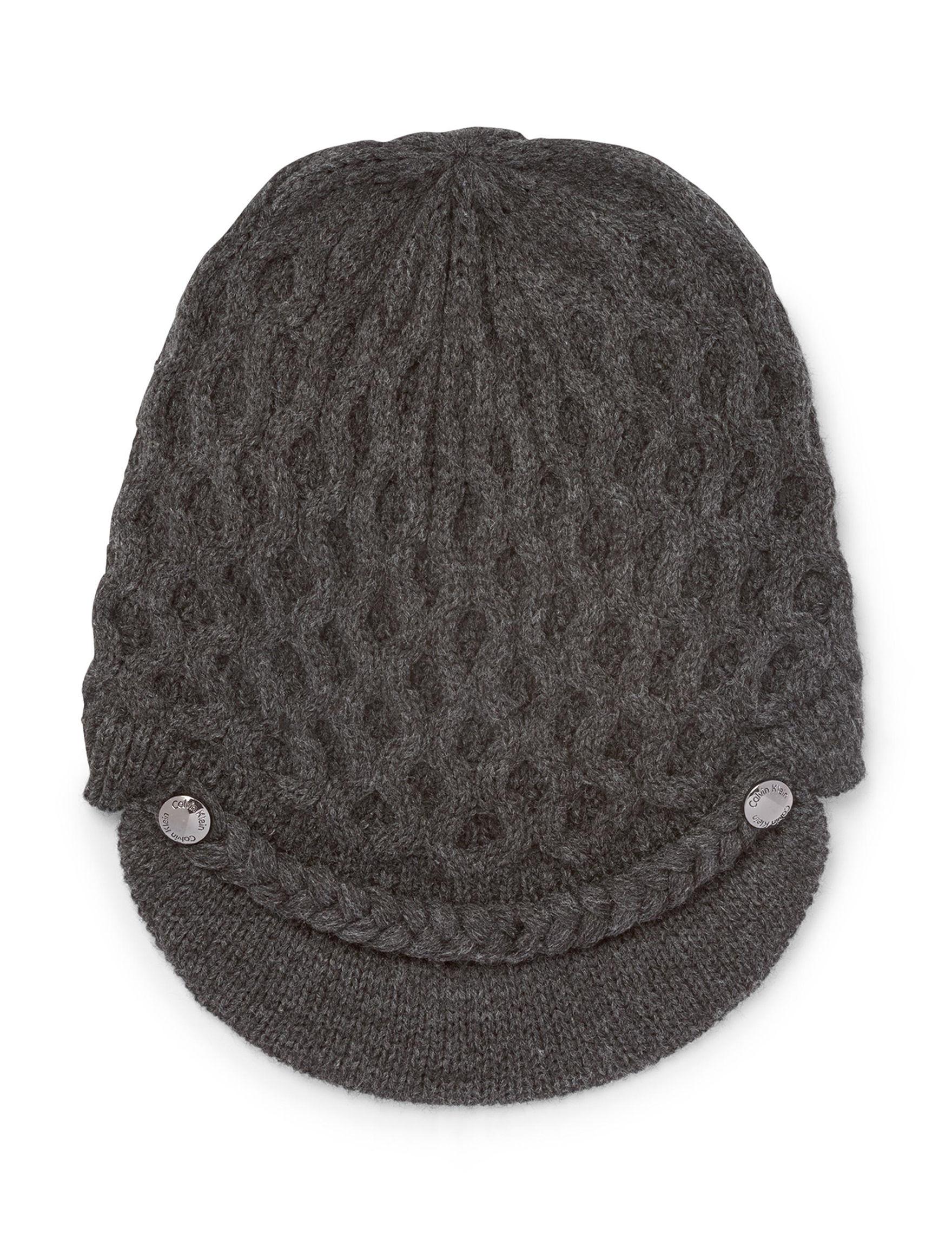 Calvin Klein Grey Hats & Headwear