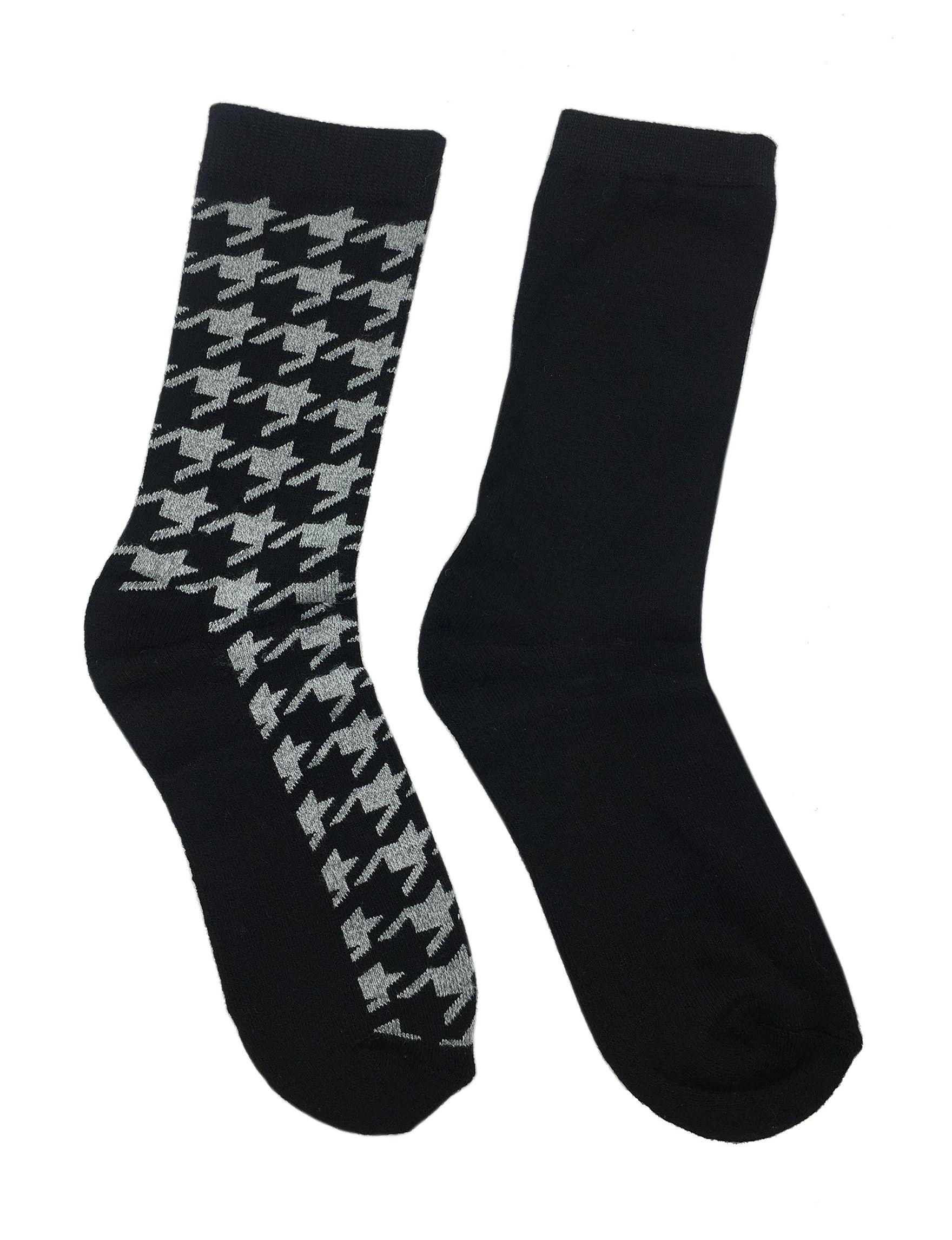 Keep Your Socks On Black Socks