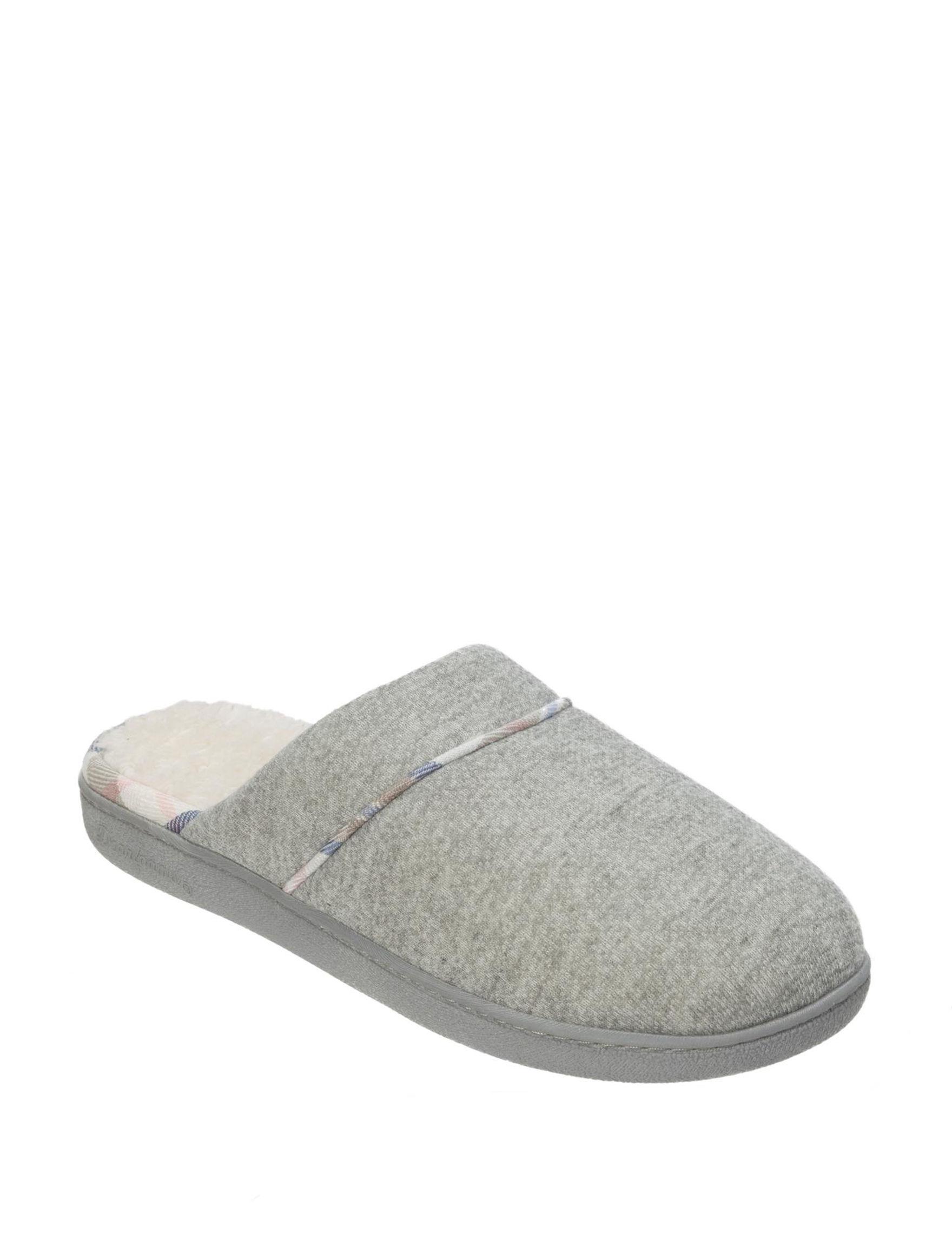 Dearfoams Light Grey